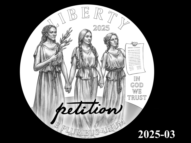 03-2025 -- 2021 - 2025 American Eagle Platinum Proof Program