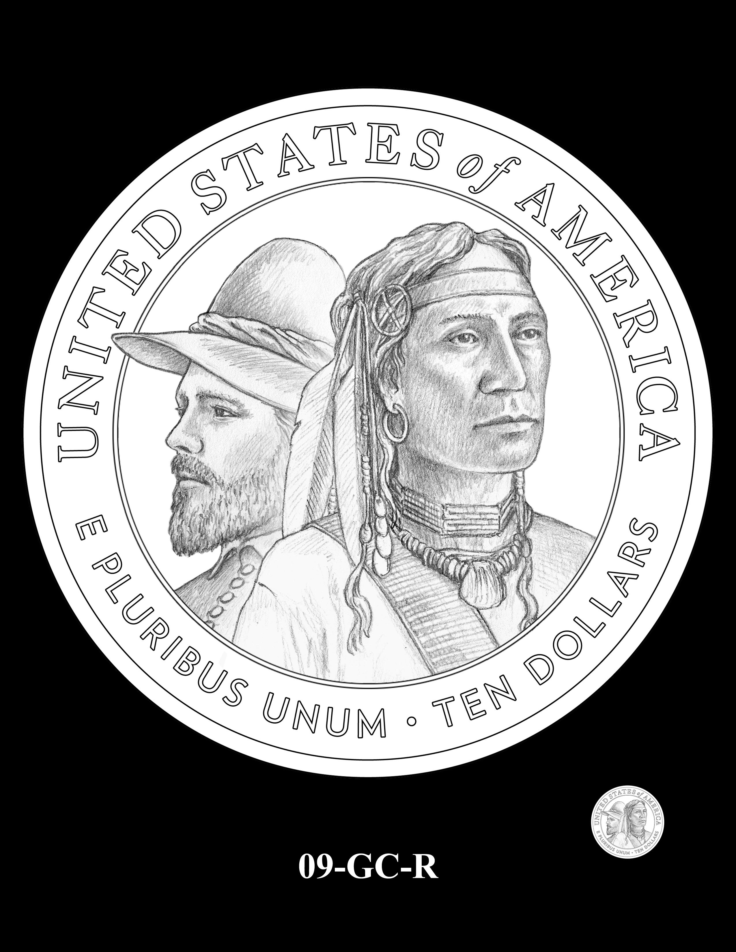 09-GC-R - 2020 Mayflower 400th Anniversary 24K Gold Coin & Silver Medal Program