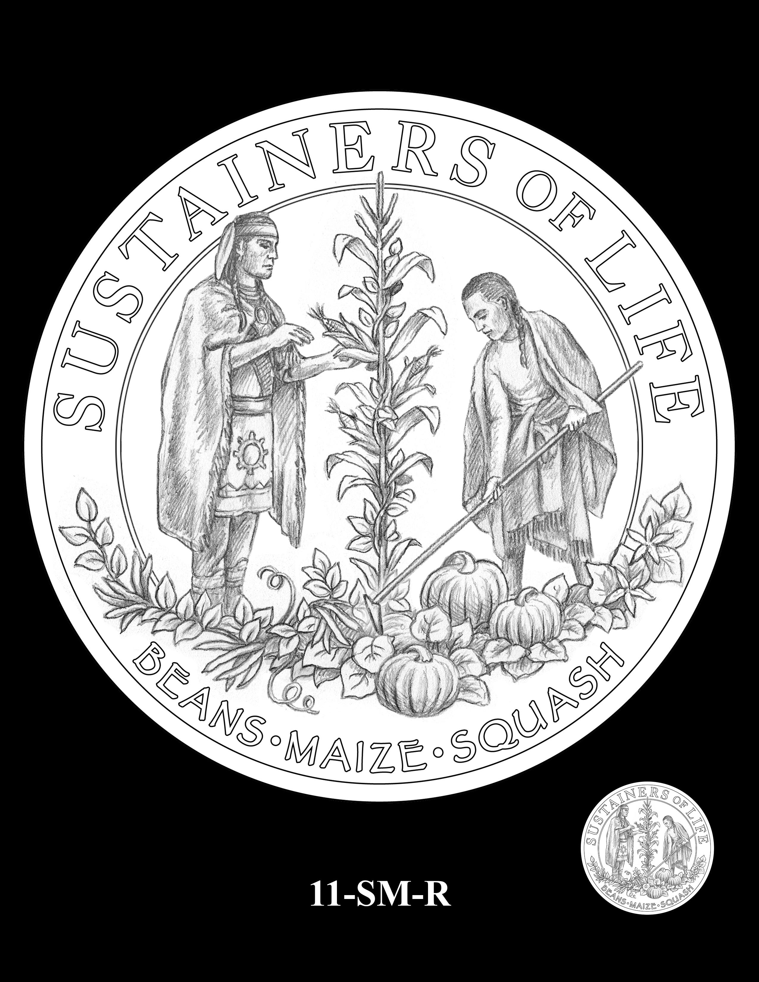 11-SM-R - 2020 Mayflower 400th Anniversary 24K Gold Coin & Silver Medal Program