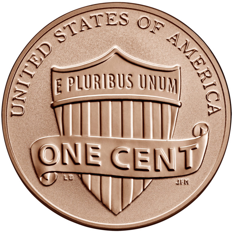 2019 Lincoln Penny Reverse Proof Reverse