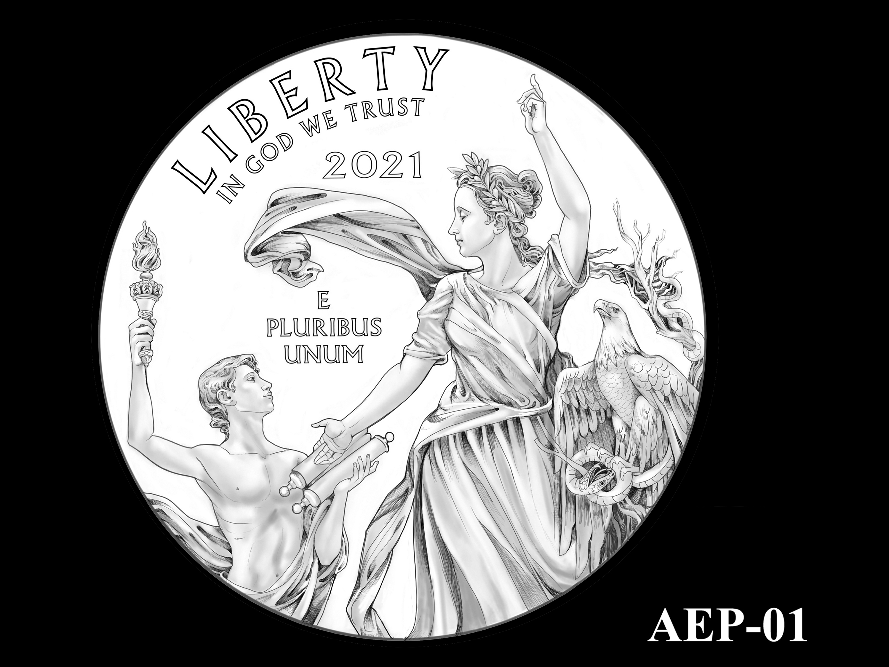 AEP-01 -- 2021 American Eagle Platinum Proof Program