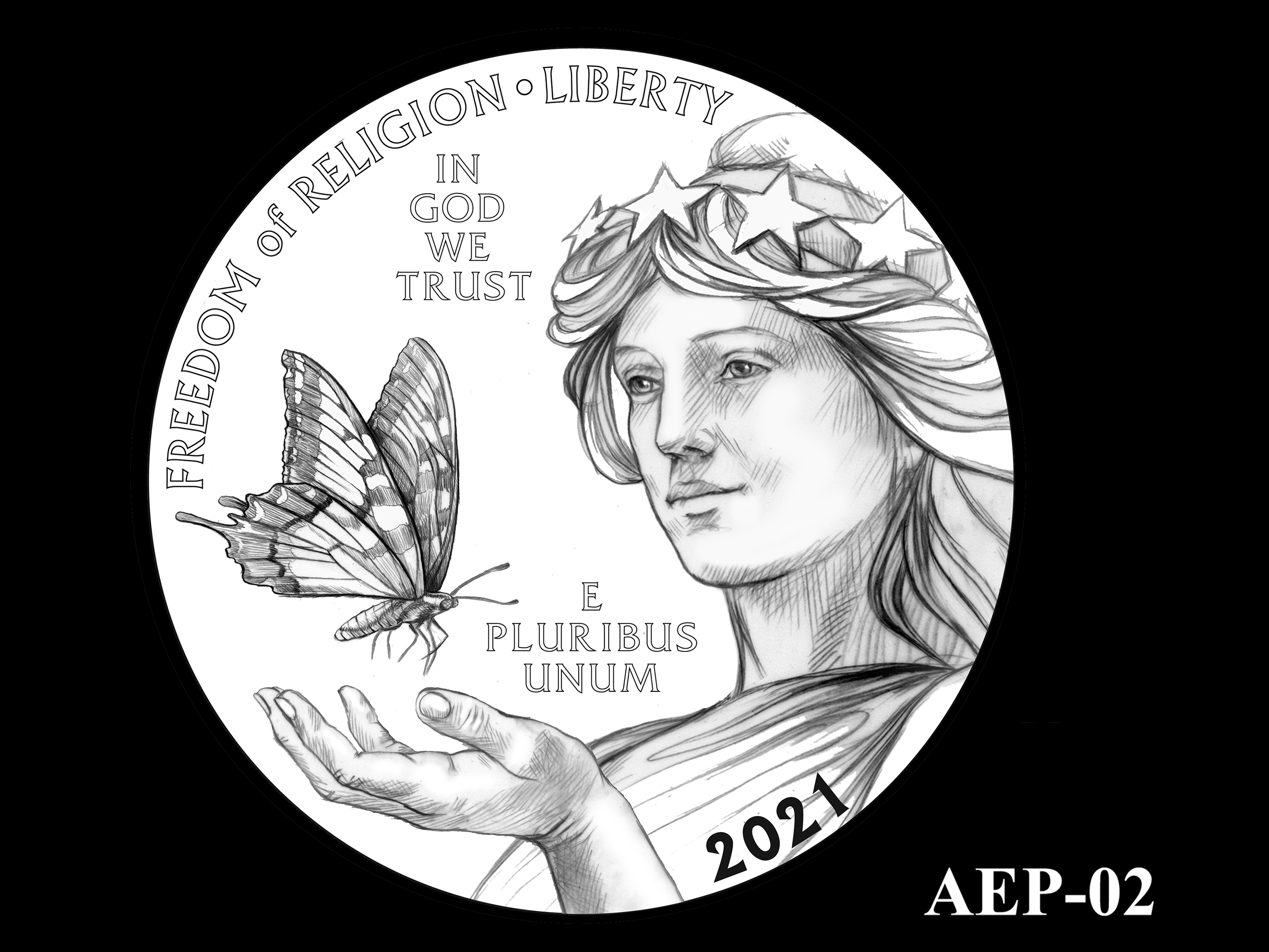 AEP-02 -- 2021 American Eagle Platinum Proof Program