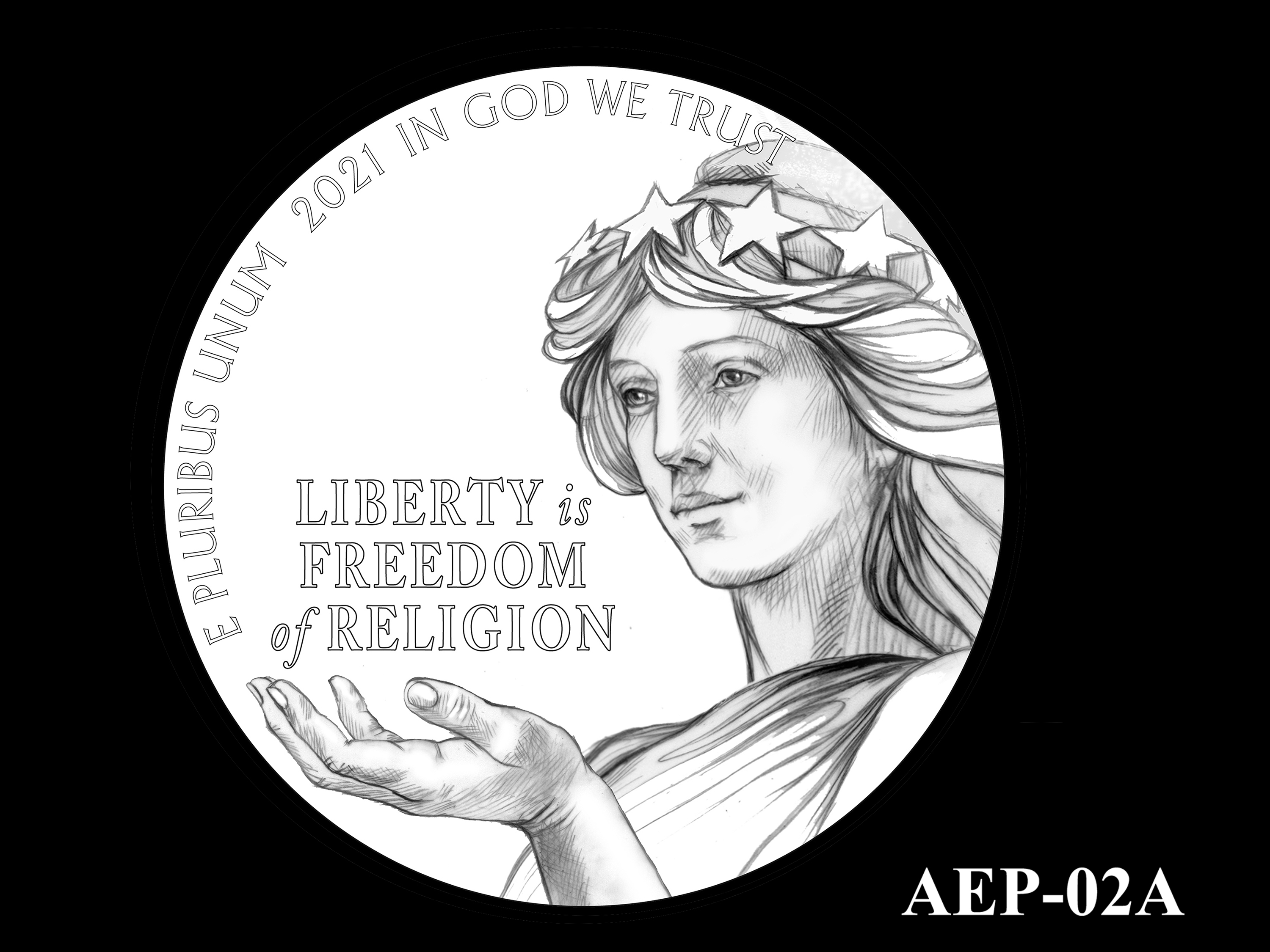 AEP-02A -- 2021 American Eagle Platinum Proof Program