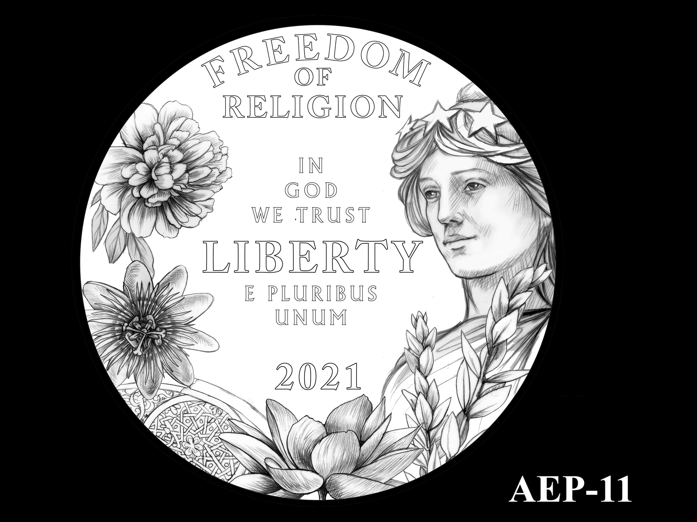 AEP-11 -- 2021 American Eagle Platinum Proof Program