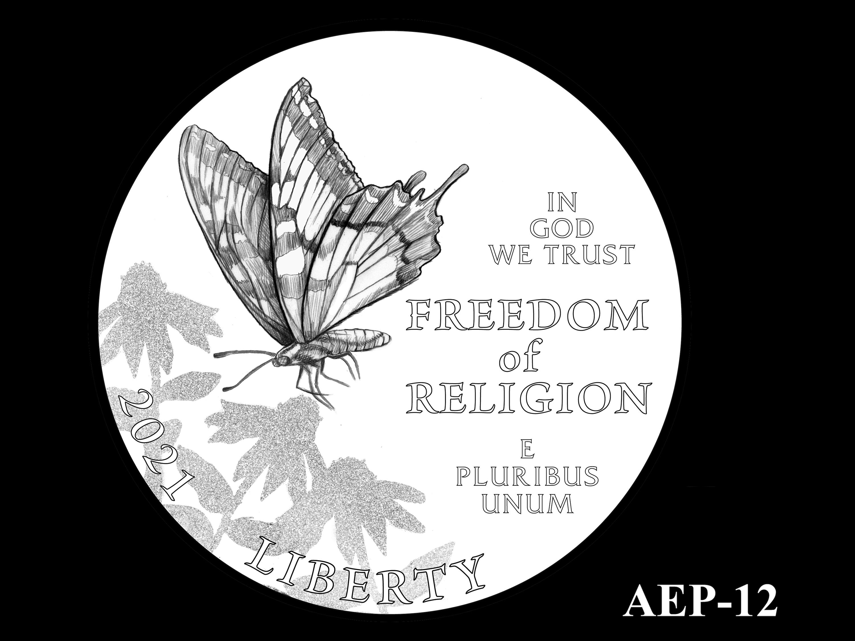 AEP-12 -- 2021 American Eagle Platinum Proof Program