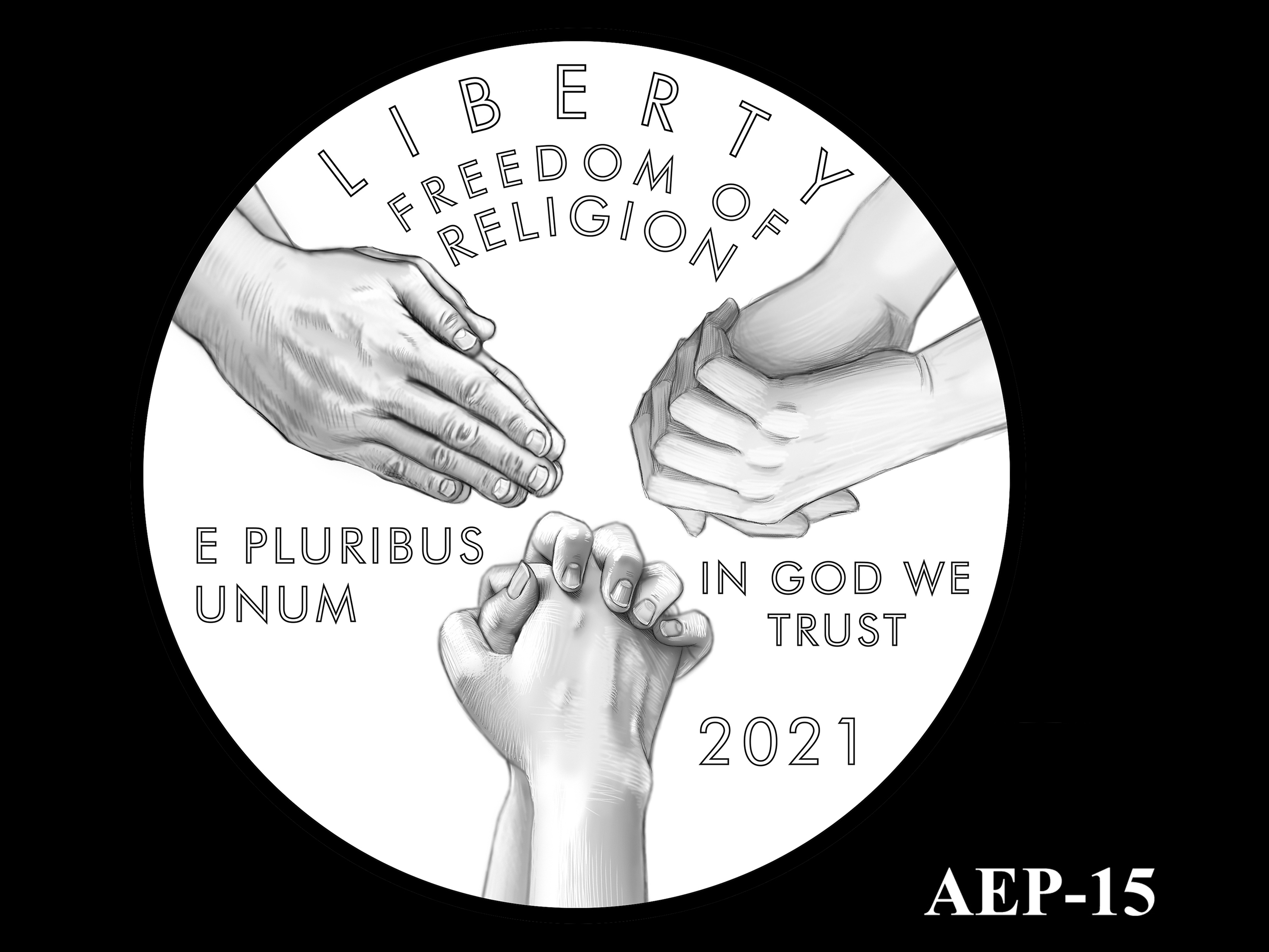 AEP-15 -- 2021 American Eagle Platinum Proof Program