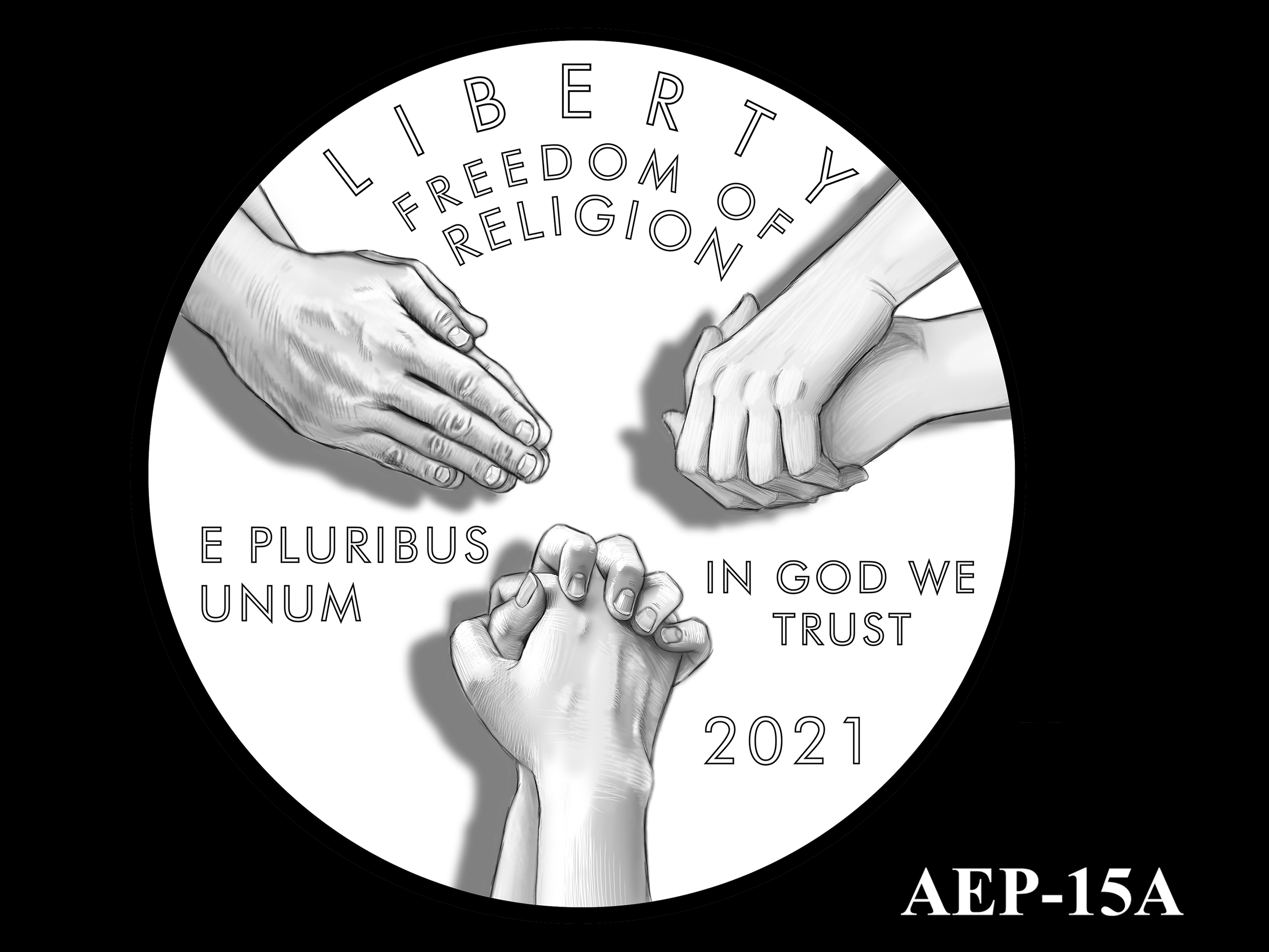 AEP-15A -- 2021 American Eagle Platinum Proof Program