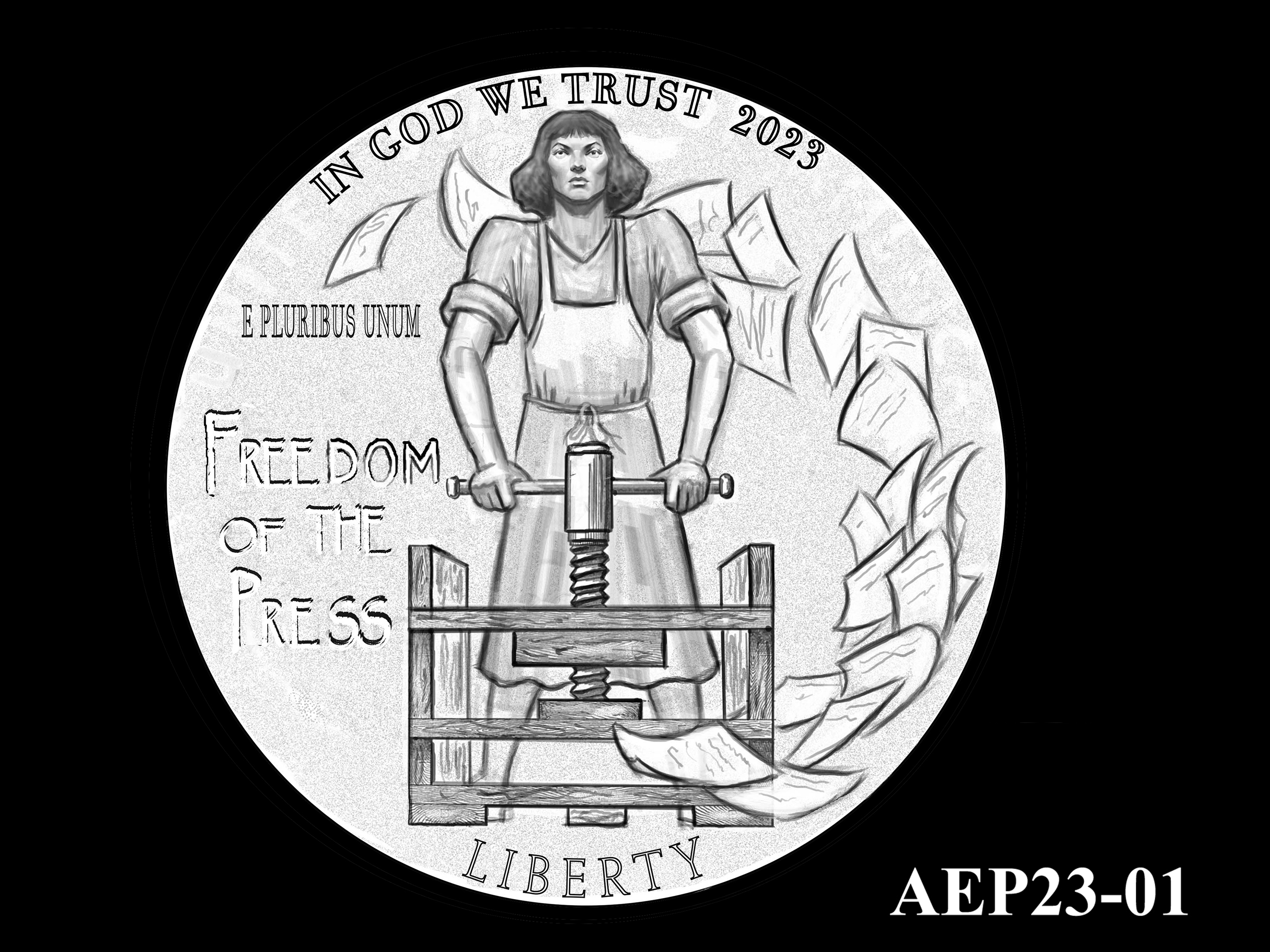 AEP23-01 -- 2021 American Eagle Platinum Proof Program