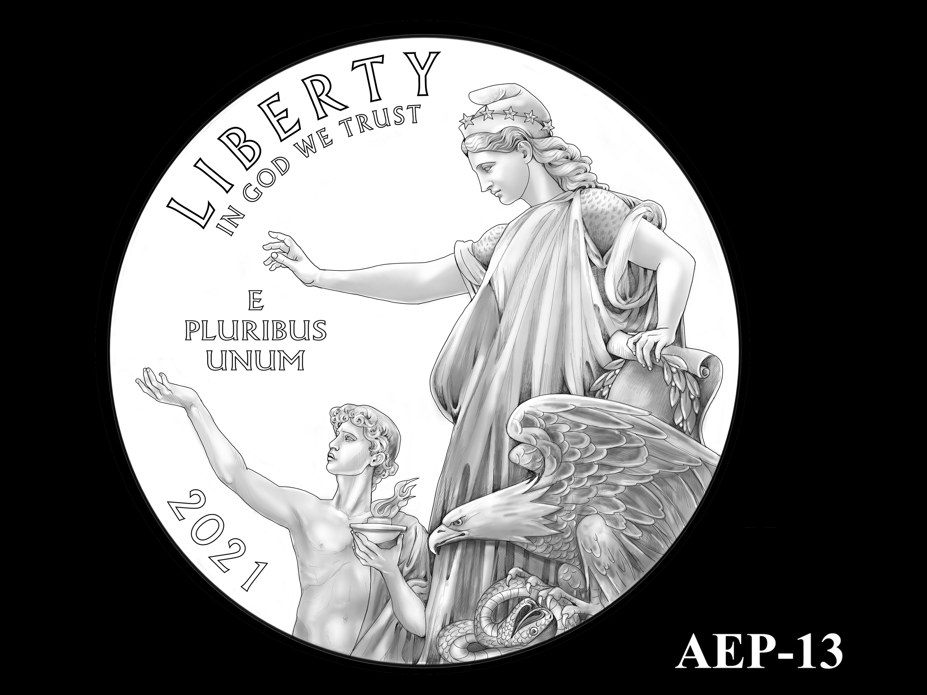 AEP-13 -- 2021 American Eagle Platinum Proof Program
