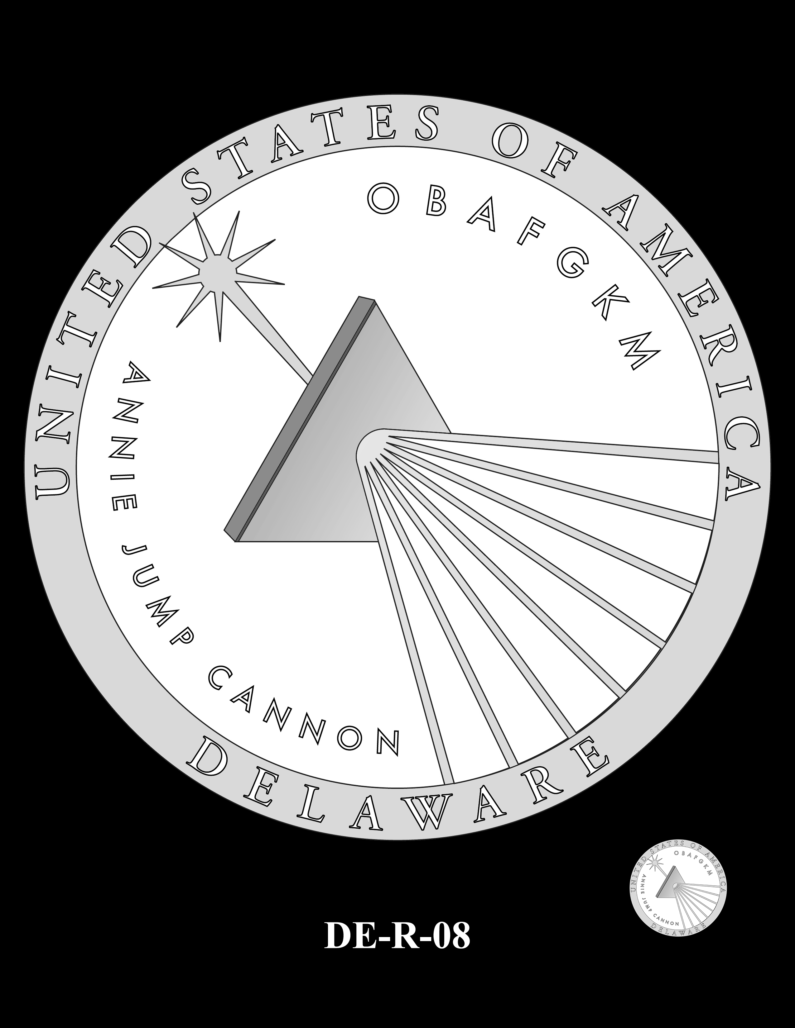 DE-R-08 -- 2019 American Innovation $1 Coin Program