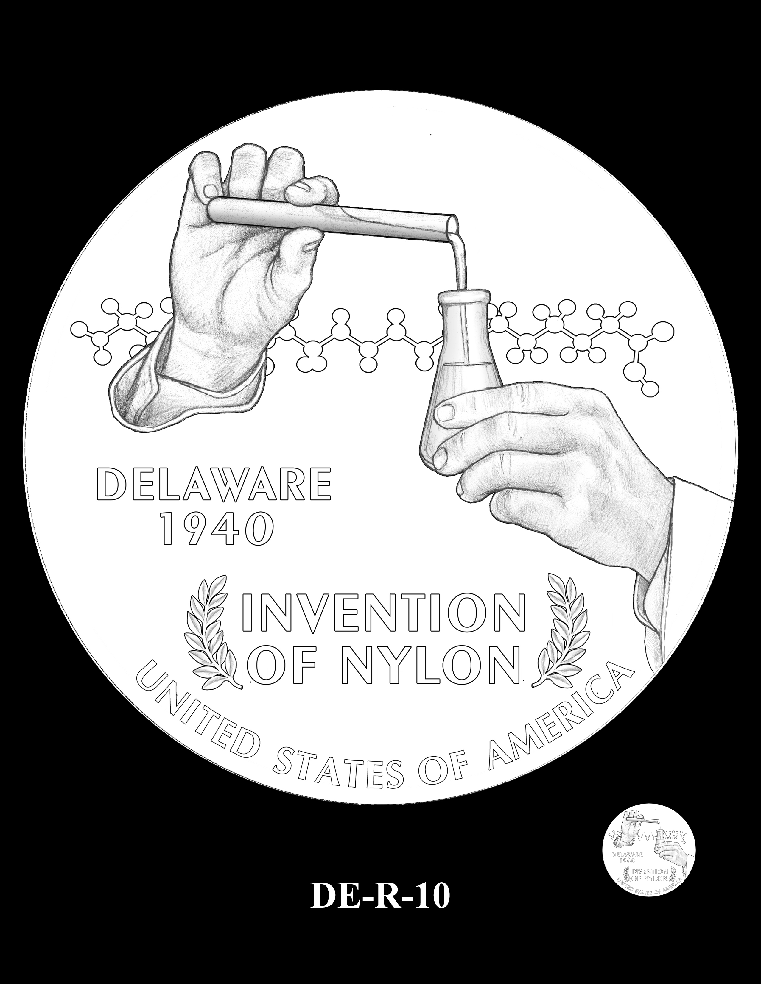 DE-R-10 -- 2019 American Innovation $1 Coin Program