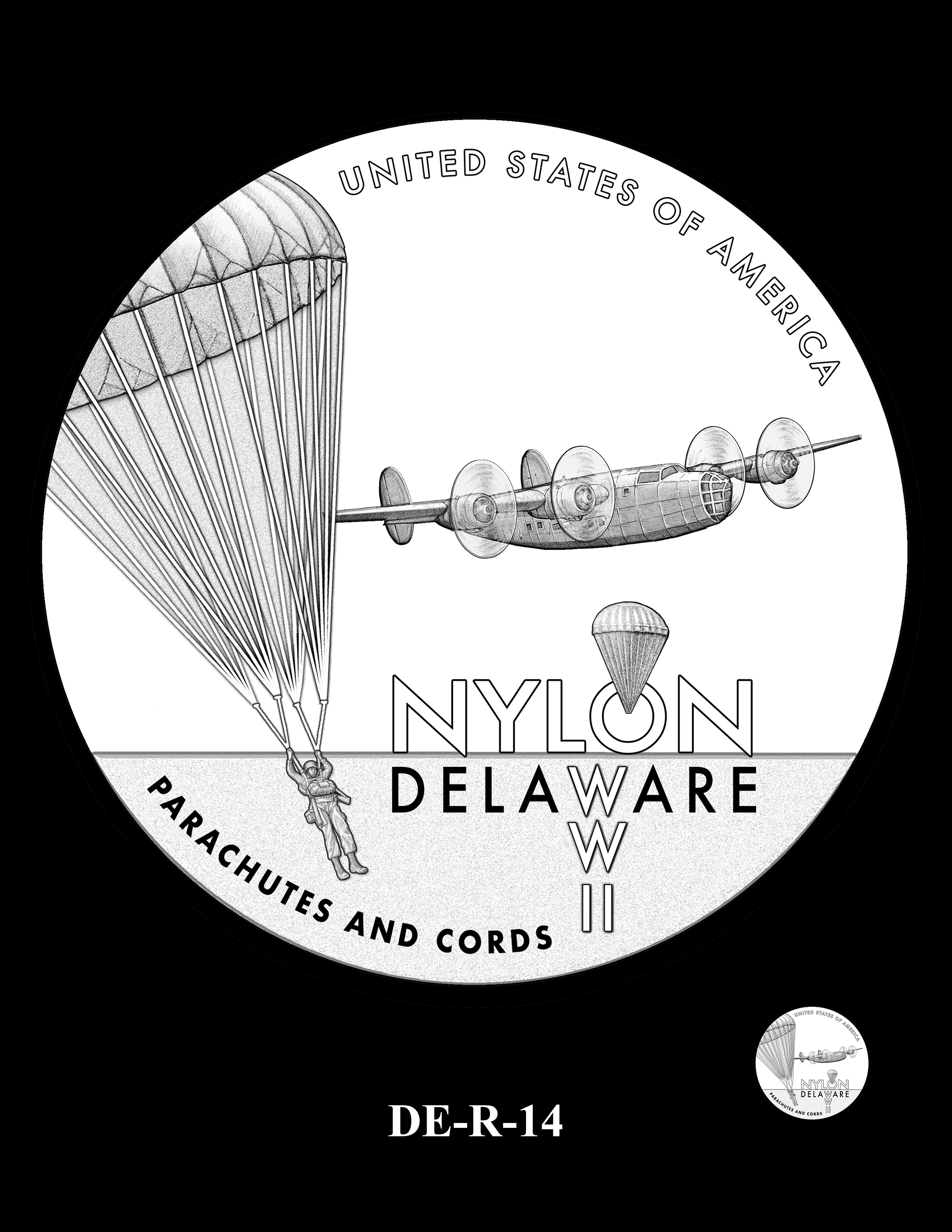 DE-R-14 -- 2019 American Innovation $1 Coin Program