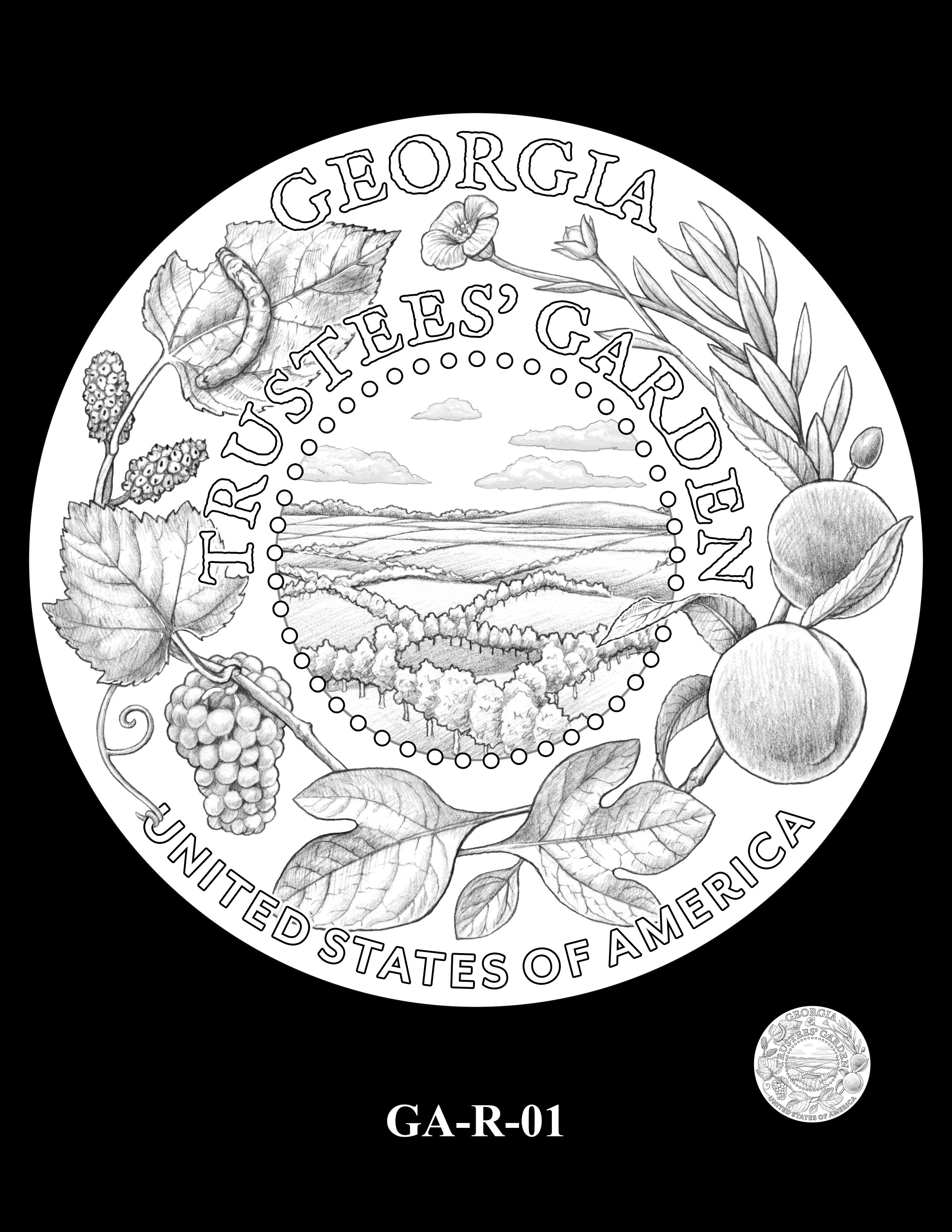 GA-R-01 -- 2019 American Innovation $1 Coin Program