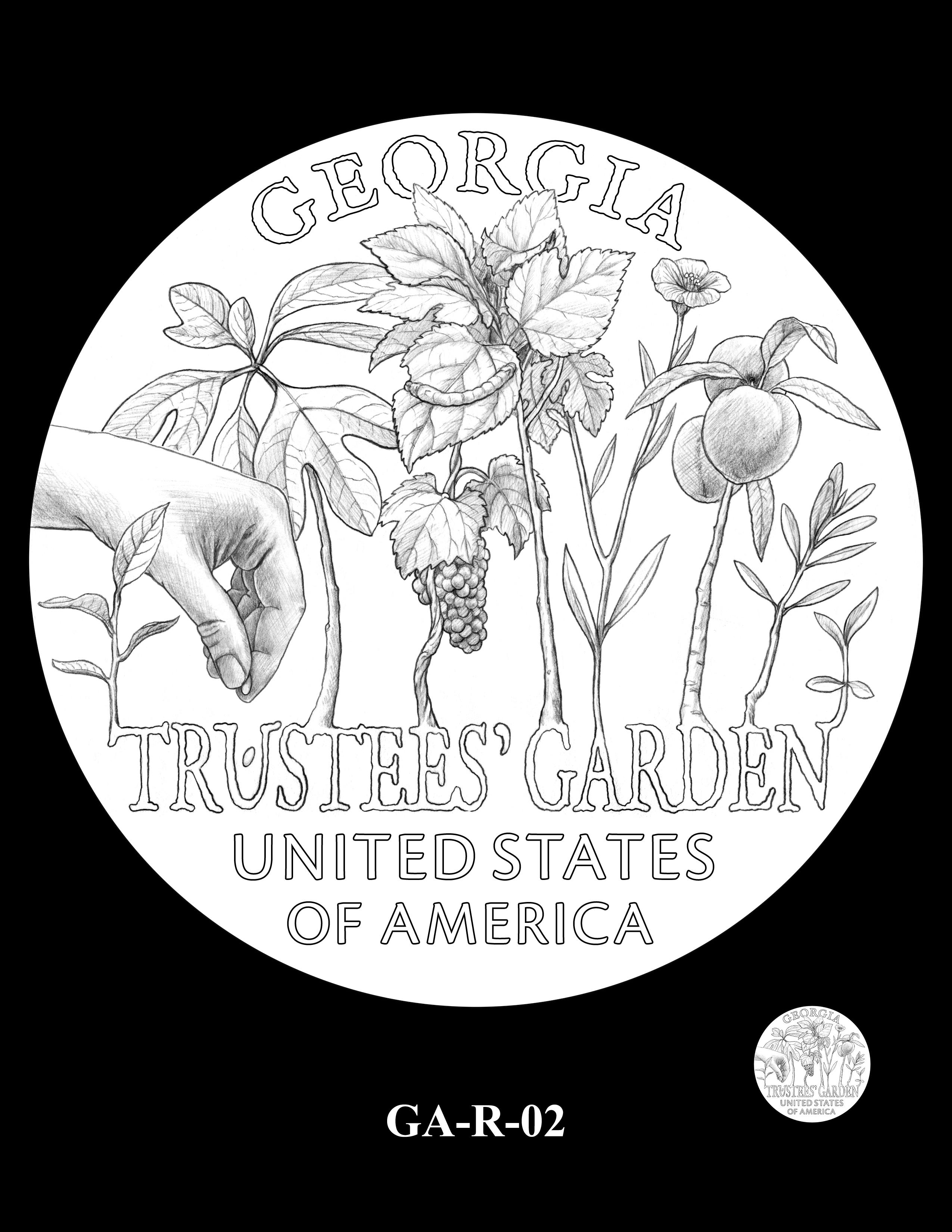 GA-R-02 -- 2019 American Innovation $1 Coin Program