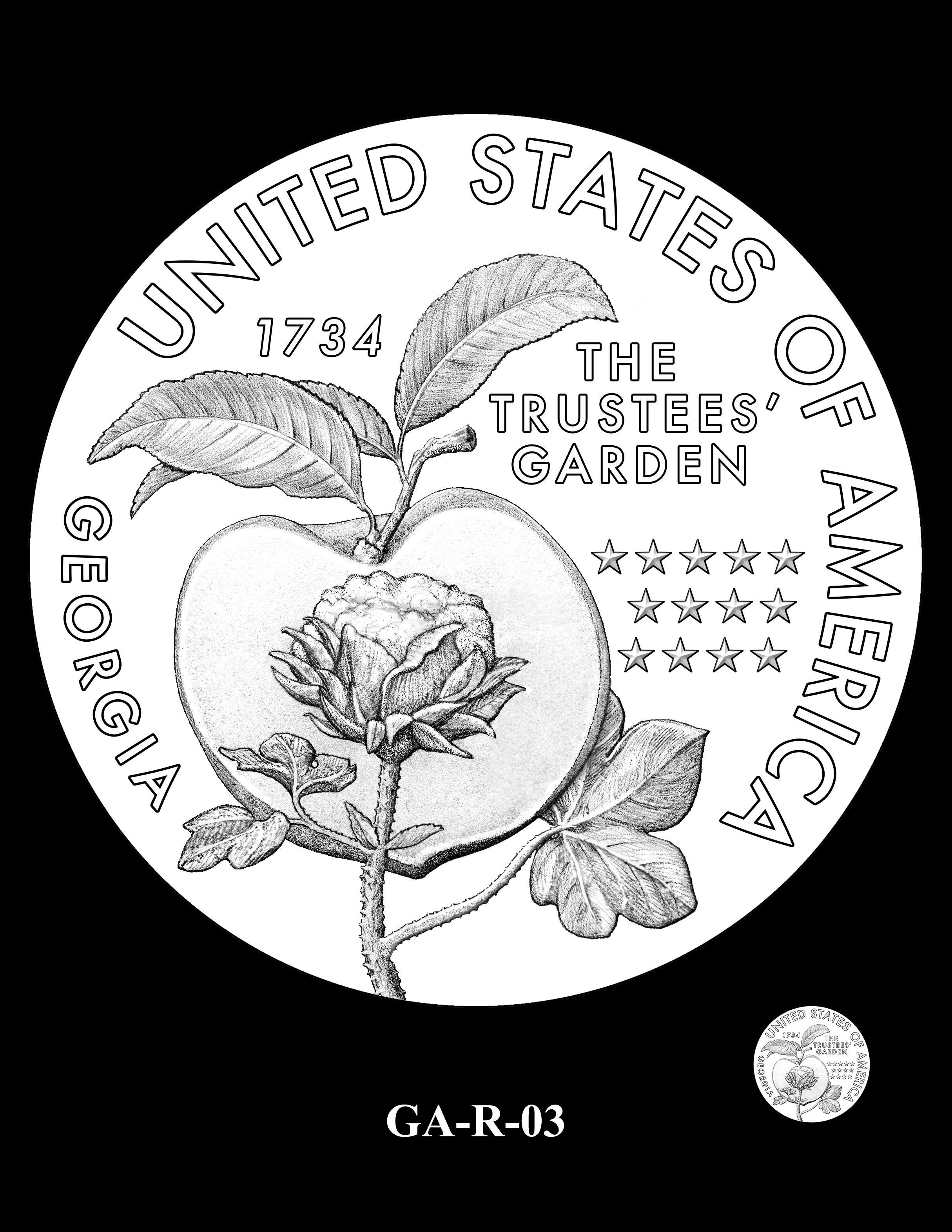 GA-R-03 -- 2019 American Innovation $1 Coin Program