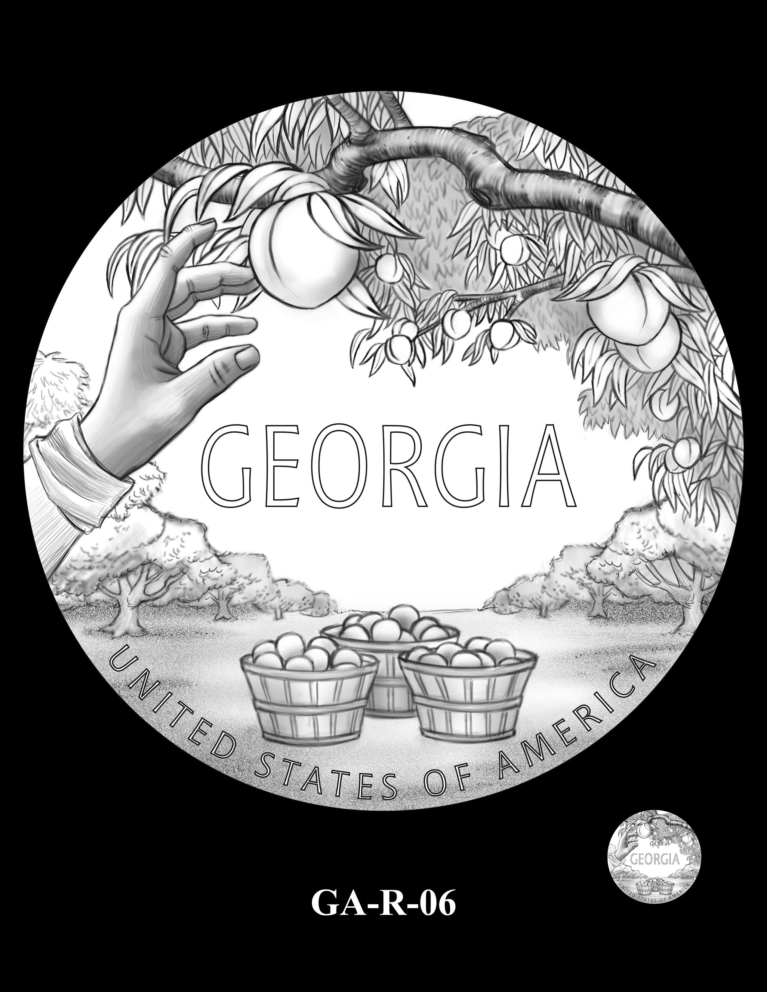 GA-R-06 -- 2019 American Innovation $1 Coin Program