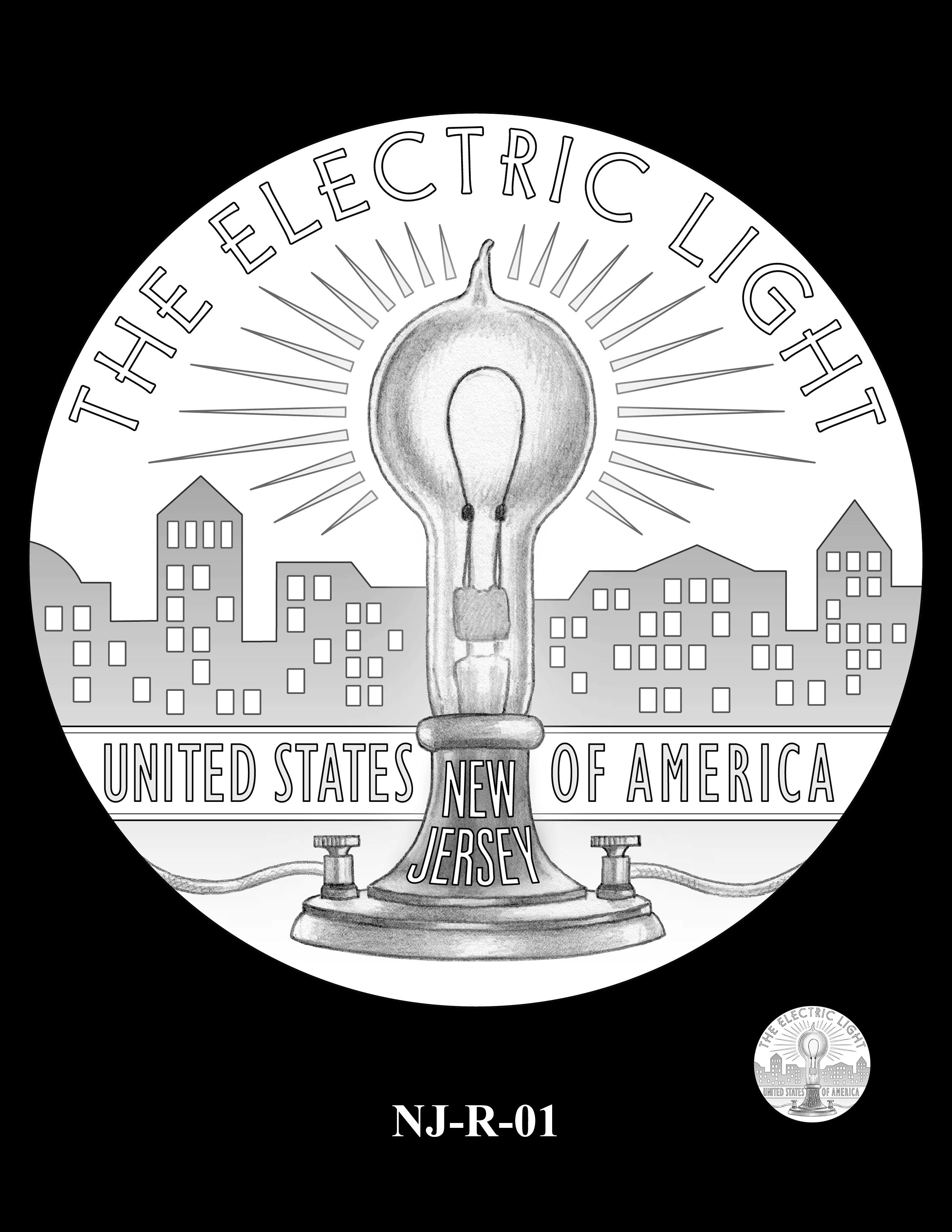 NJ-R-01 -- 2019 American Innovation $1 Coin Program