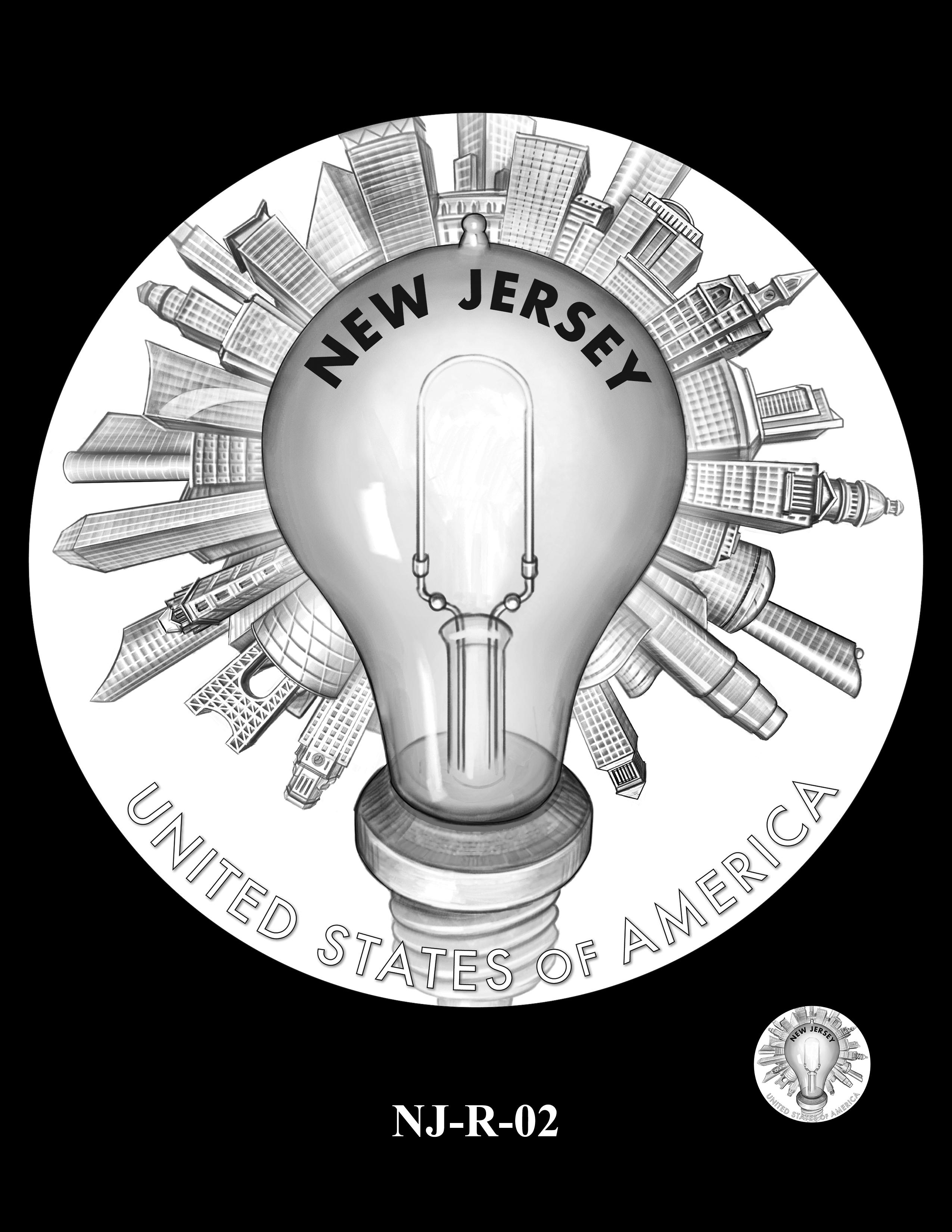 NJ-R-02 -- 2019 American Innovation $1 Coin Program