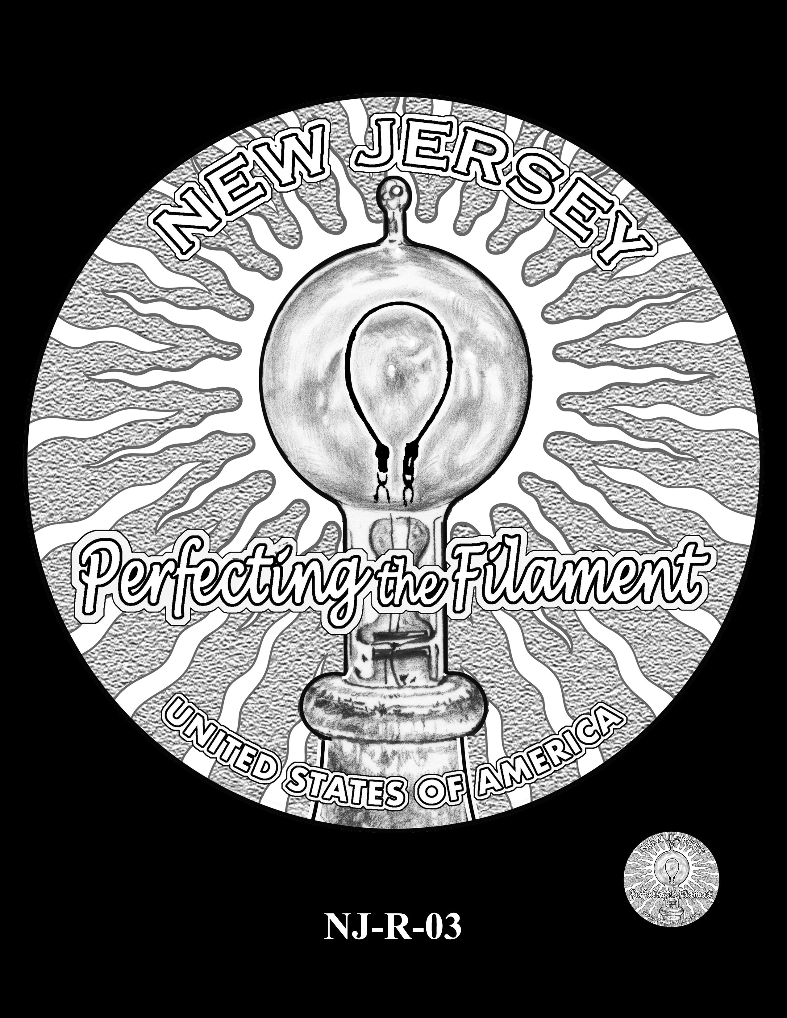 NJ-R-03 -- 2019 American Innovation $1 Coin Program