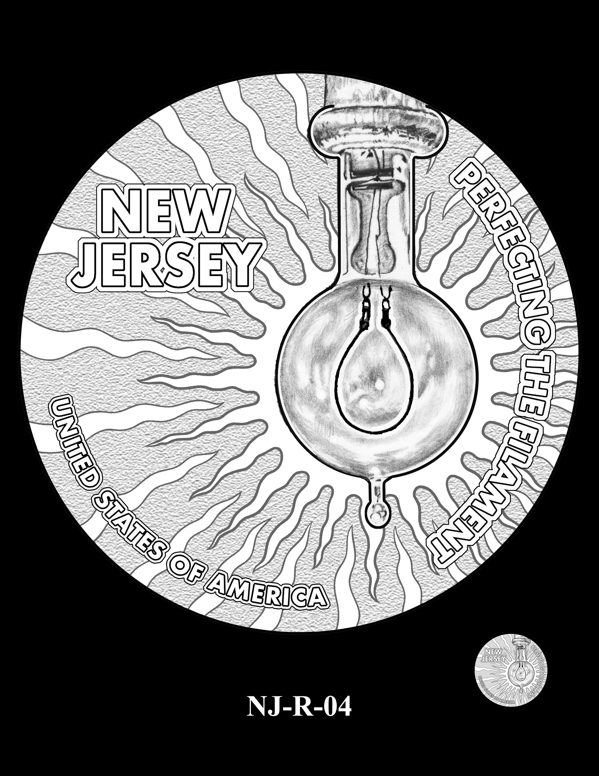 NJ-R-04 -- 2019 American Innovation $1 Coin Program