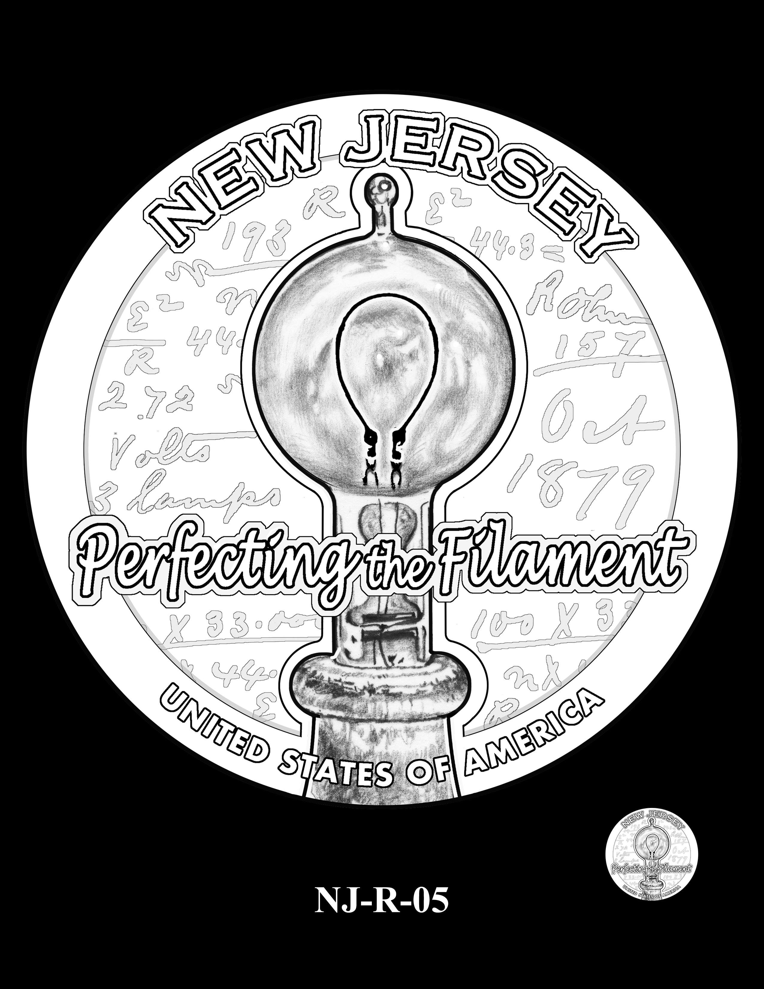 NJ-R-05 -- 2019 American Innovation $1 Coin Program