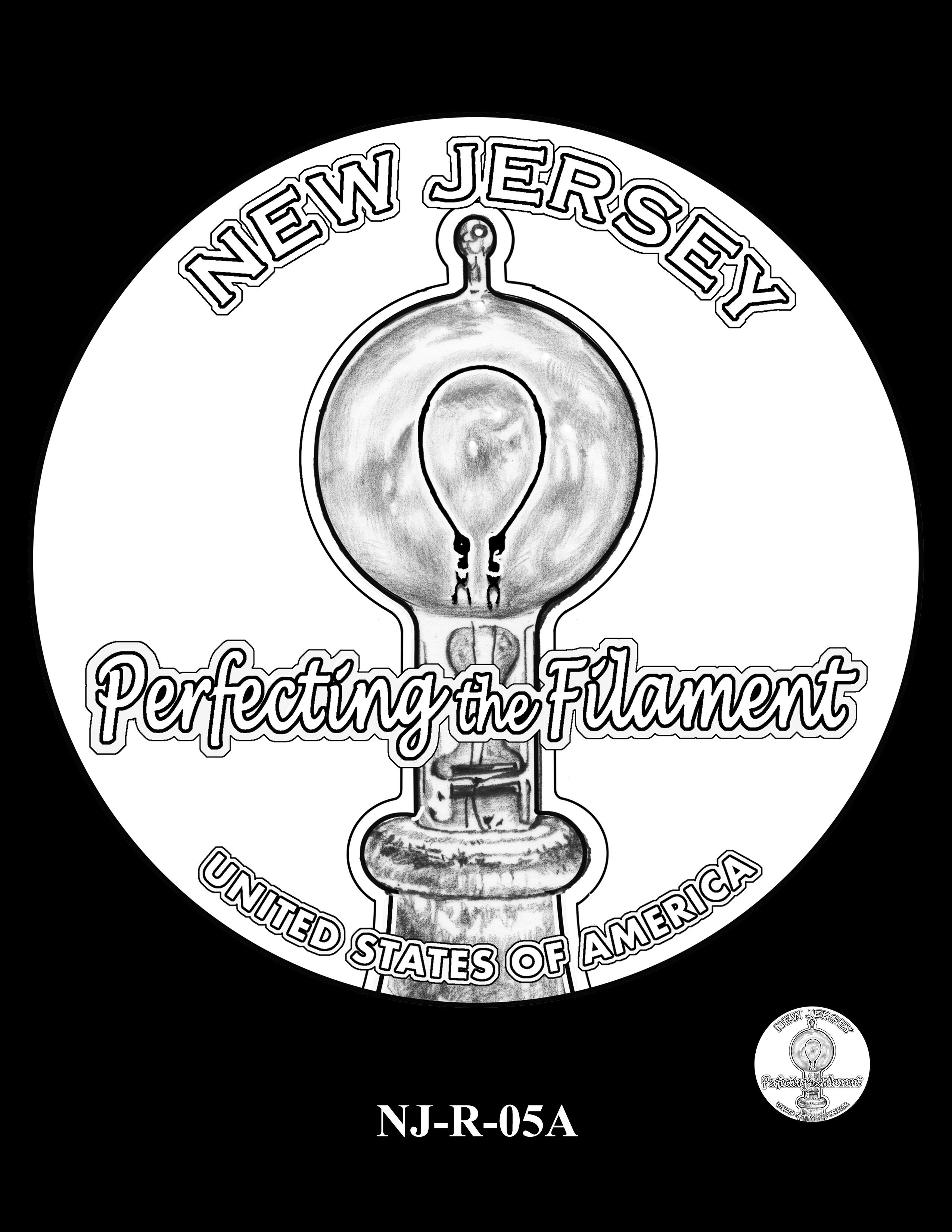 NJ-R-05A -- 2019 American Innovation $1 Coin Program