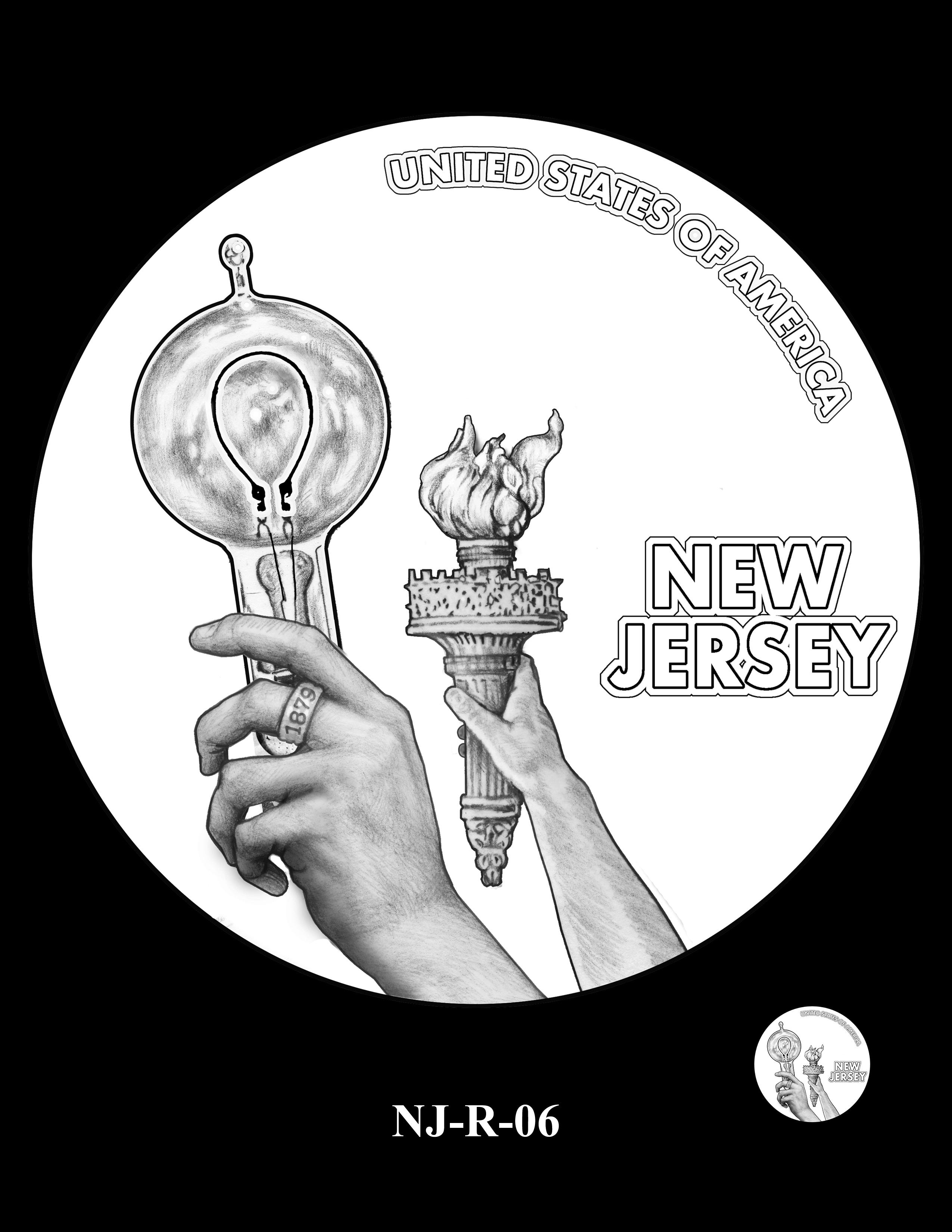 NJ-R-06 -- 2019 American Innovation $1 Coin Program