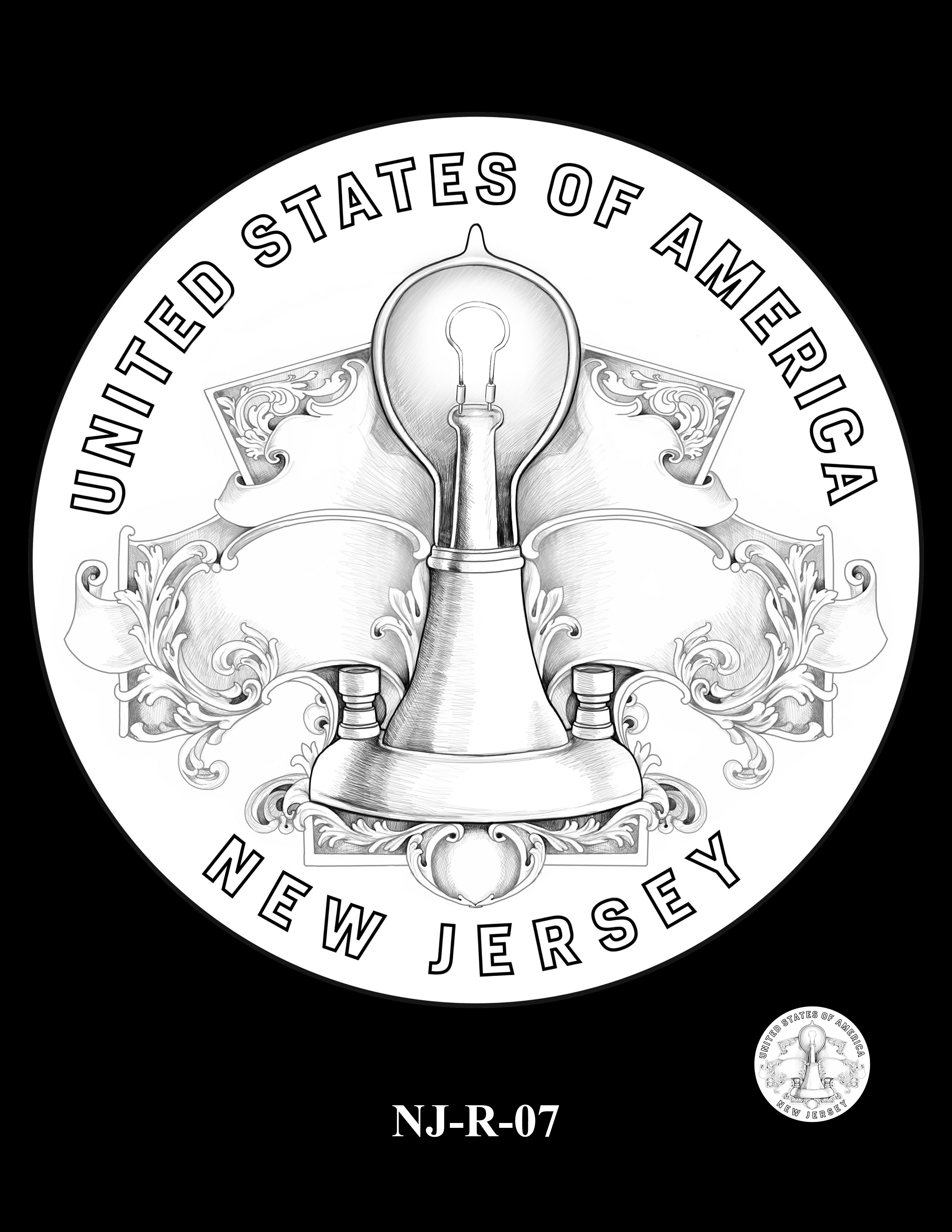 NJ-R-07 -- 2019 American Innovation $1 Coin Program