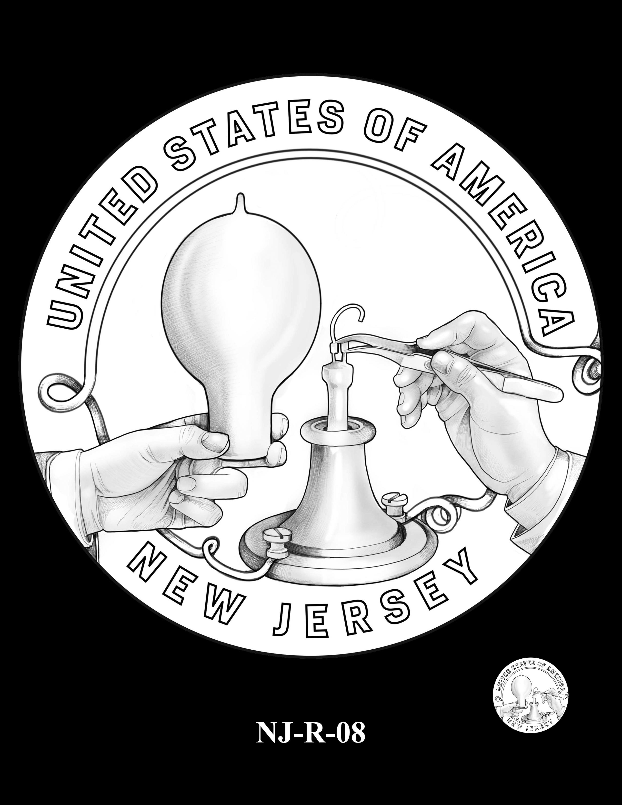 NJ-R-08 -- 2019 American Innovation $1 Coin Program
