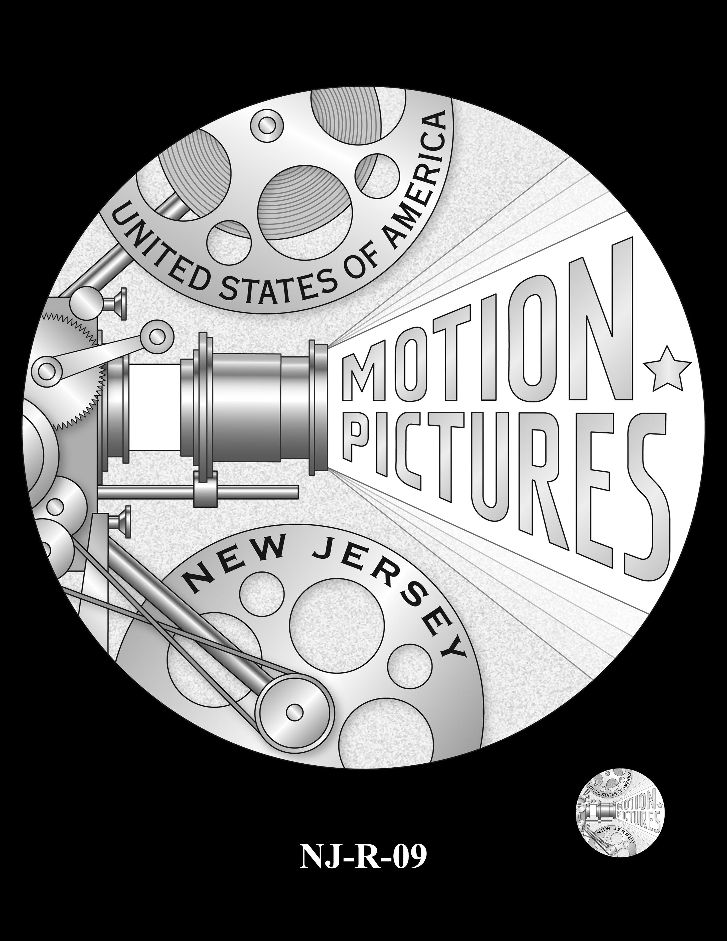 NJ-R-09 -- 2019 American Innovation $1 Coin Program