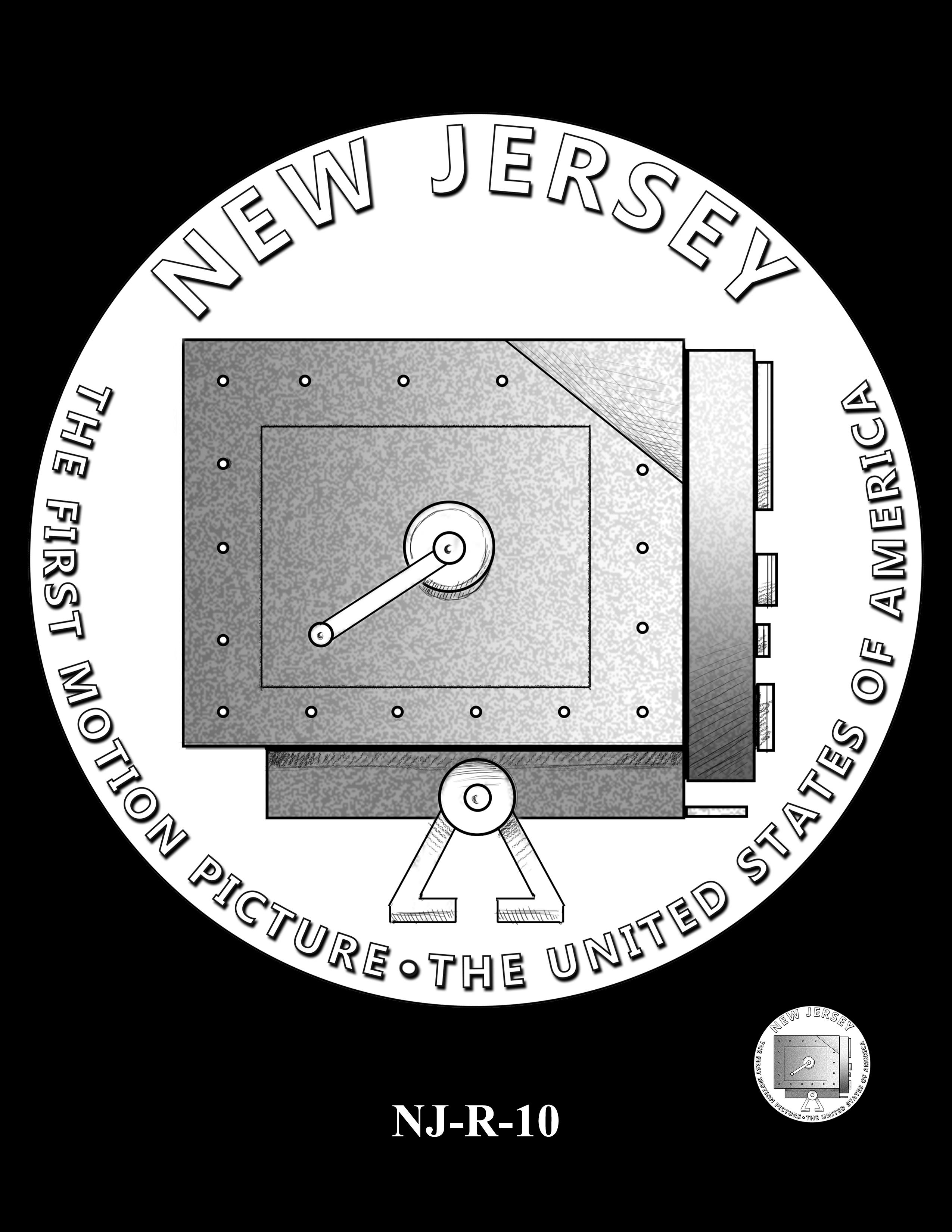 NJ-R-10 -- 2019 American Innovation $1 Coin Program