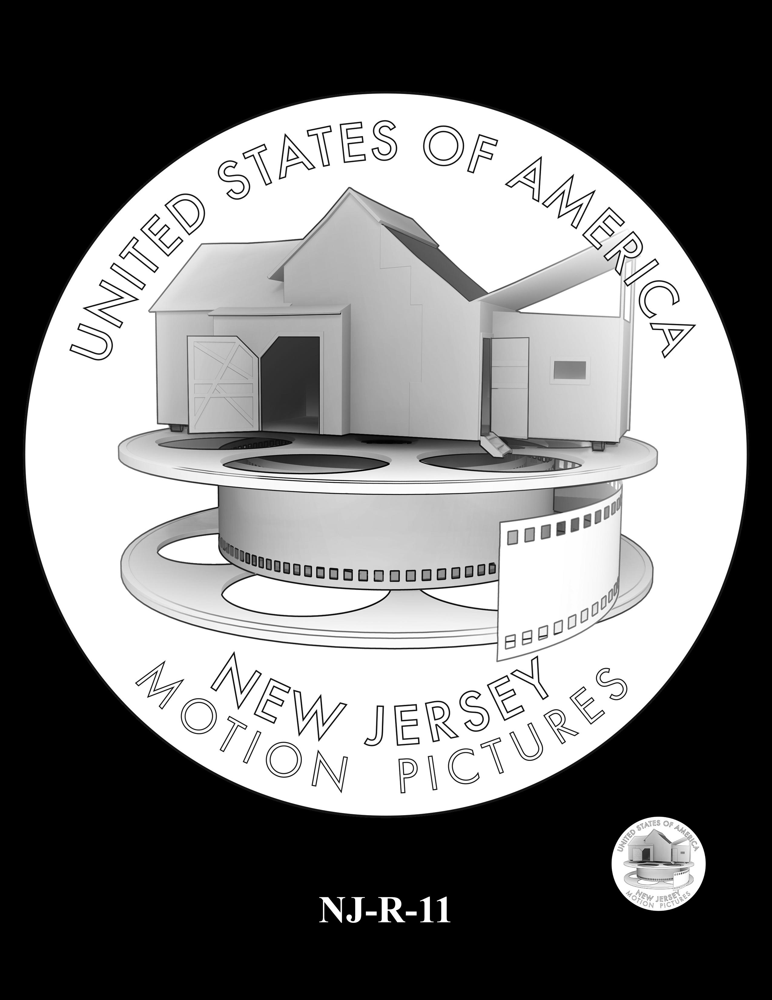 NJ-R-11 -- 2019 American Innovation $1 Coin Program