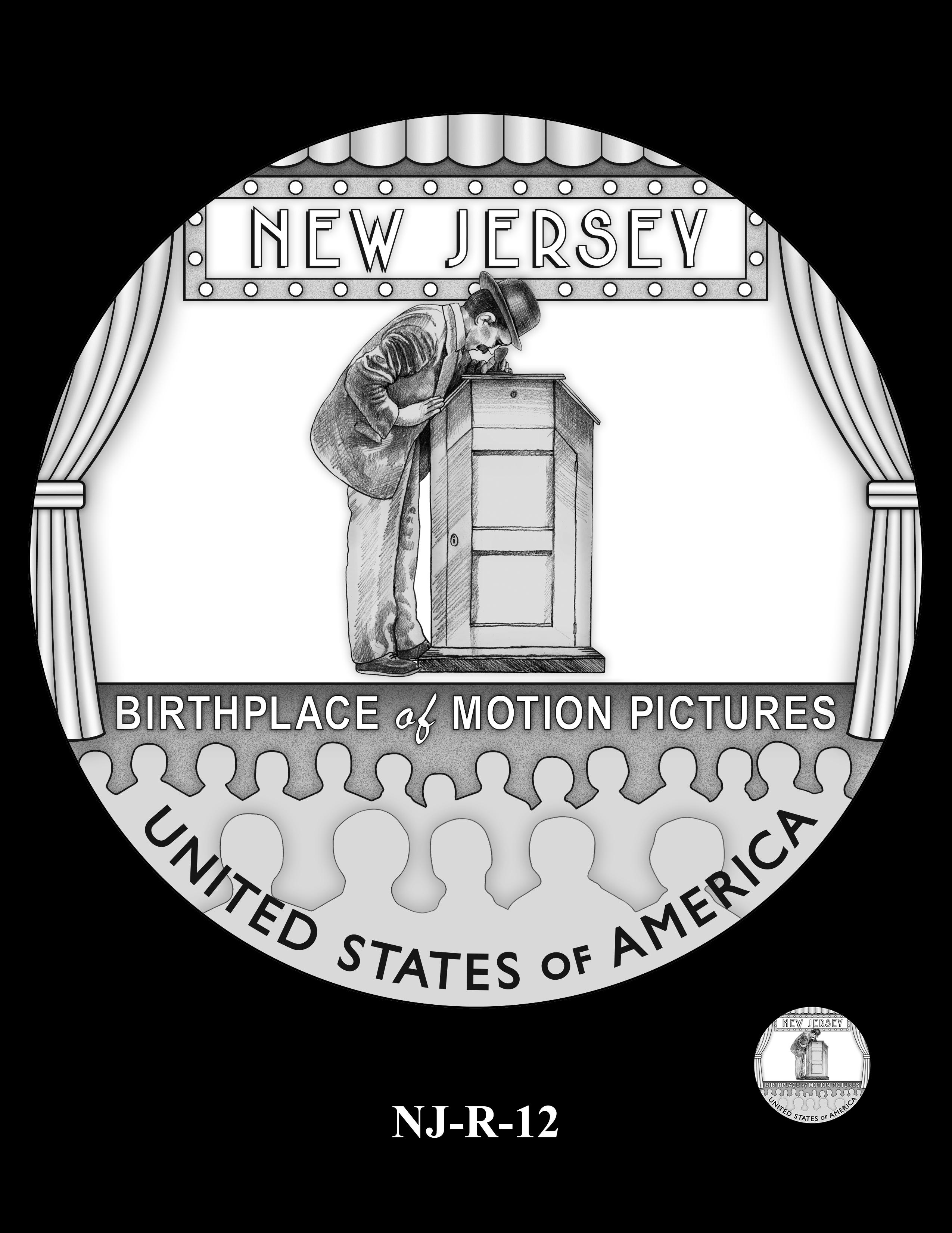 NJ-R-12 -- 2019 American Innovation $1 Coin Program