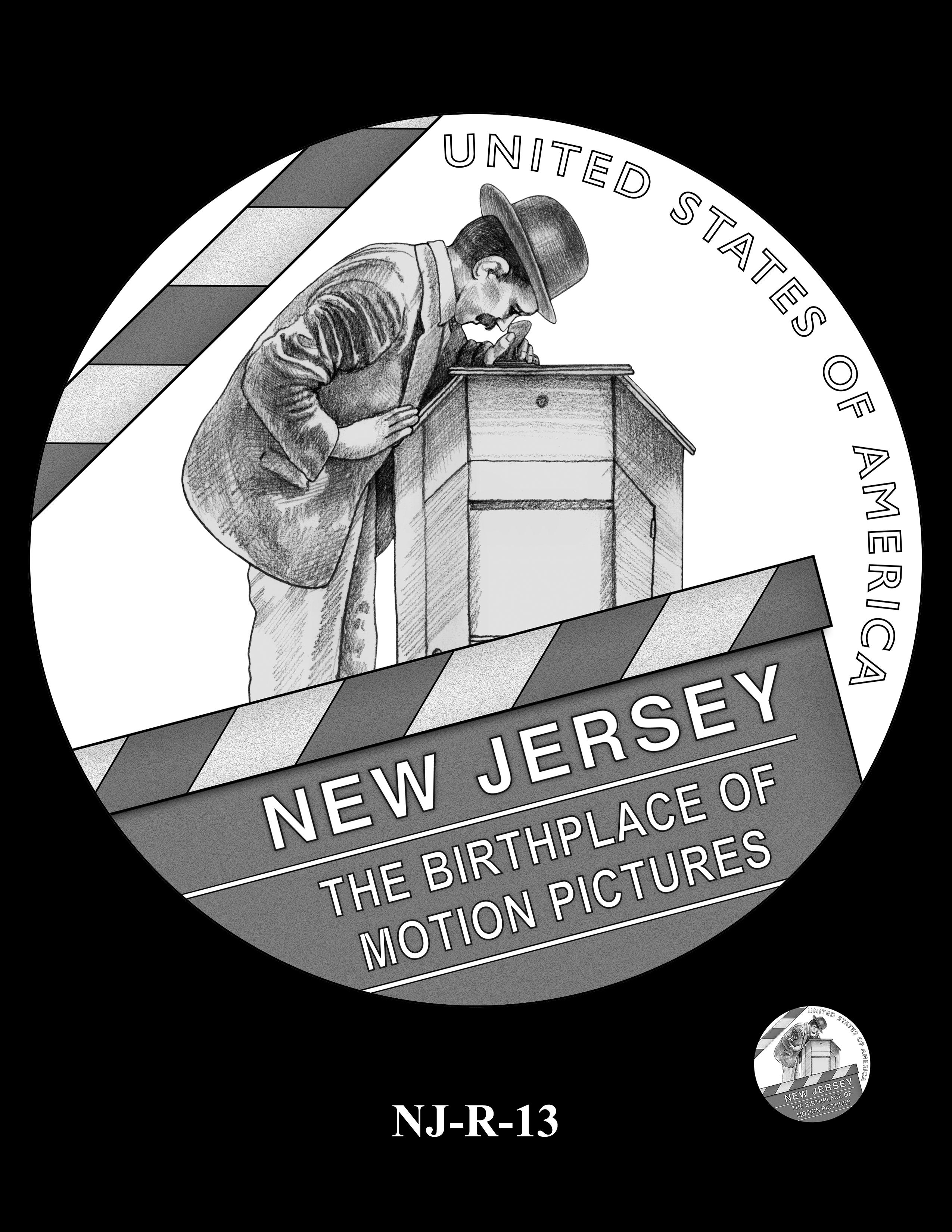 NJ-R-13 -- 2019 American Innovation $1 Coin Program