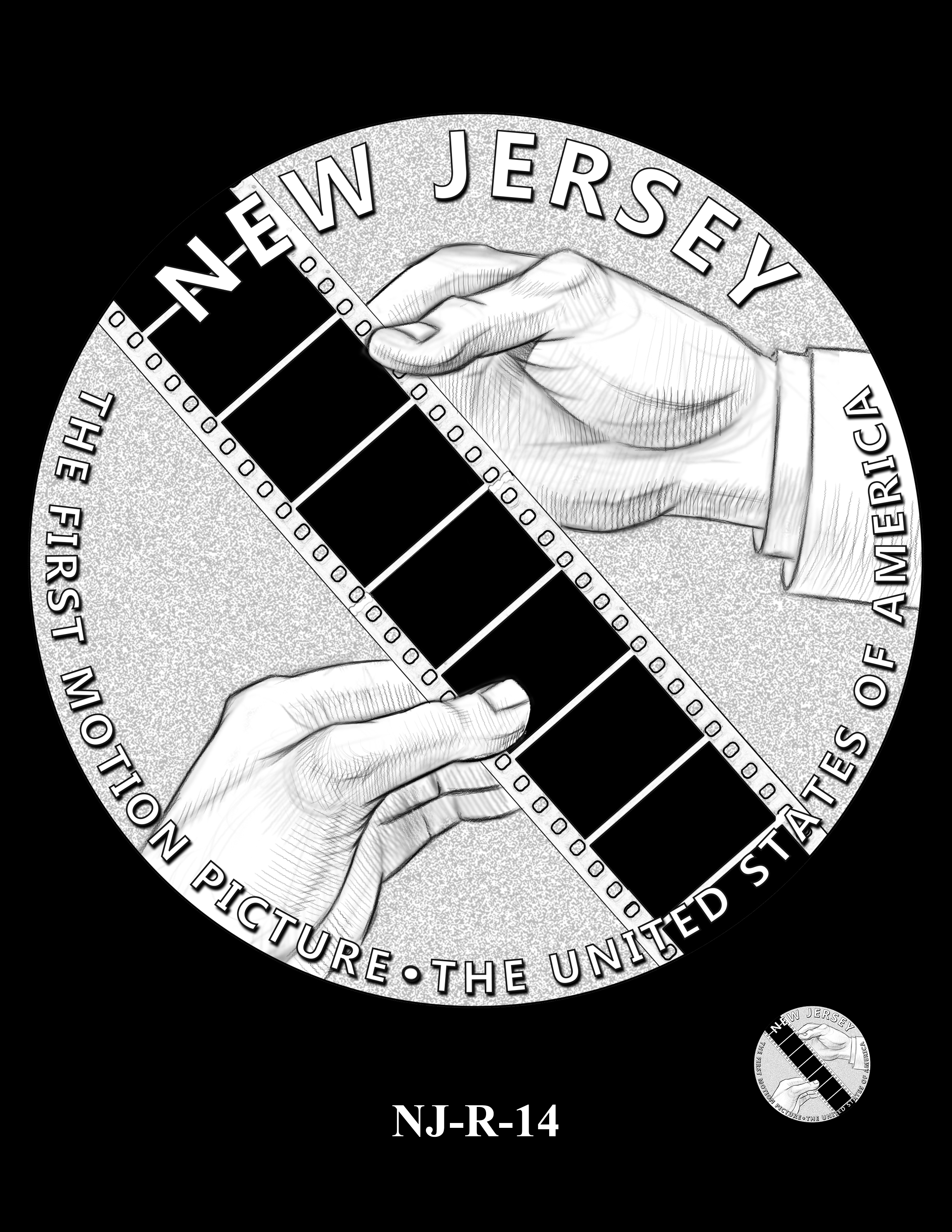 NJ-R-14 -- 2019 American Innovation $1 Coin Program