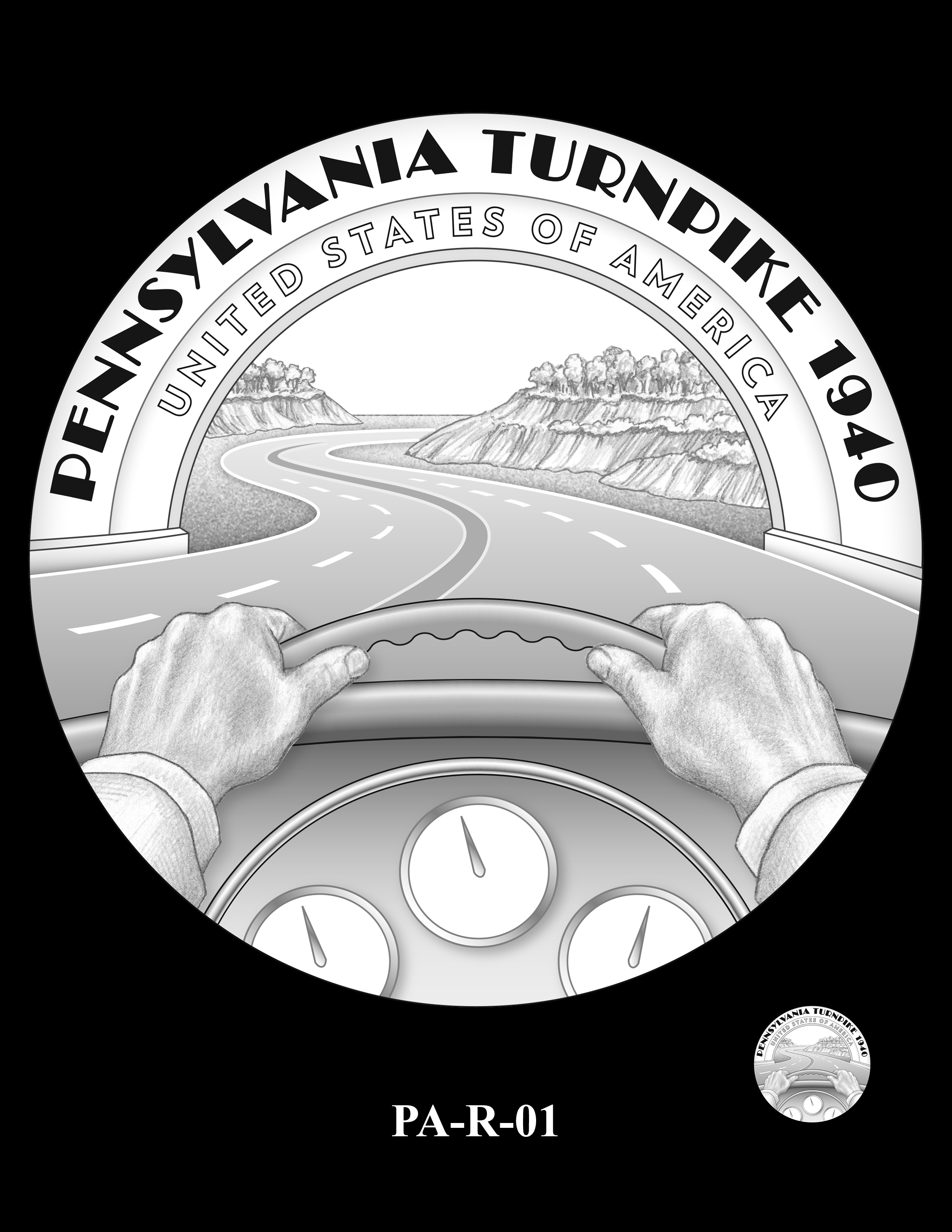 PA-R-01 -- 2019 American Innovation $1 Coin Program