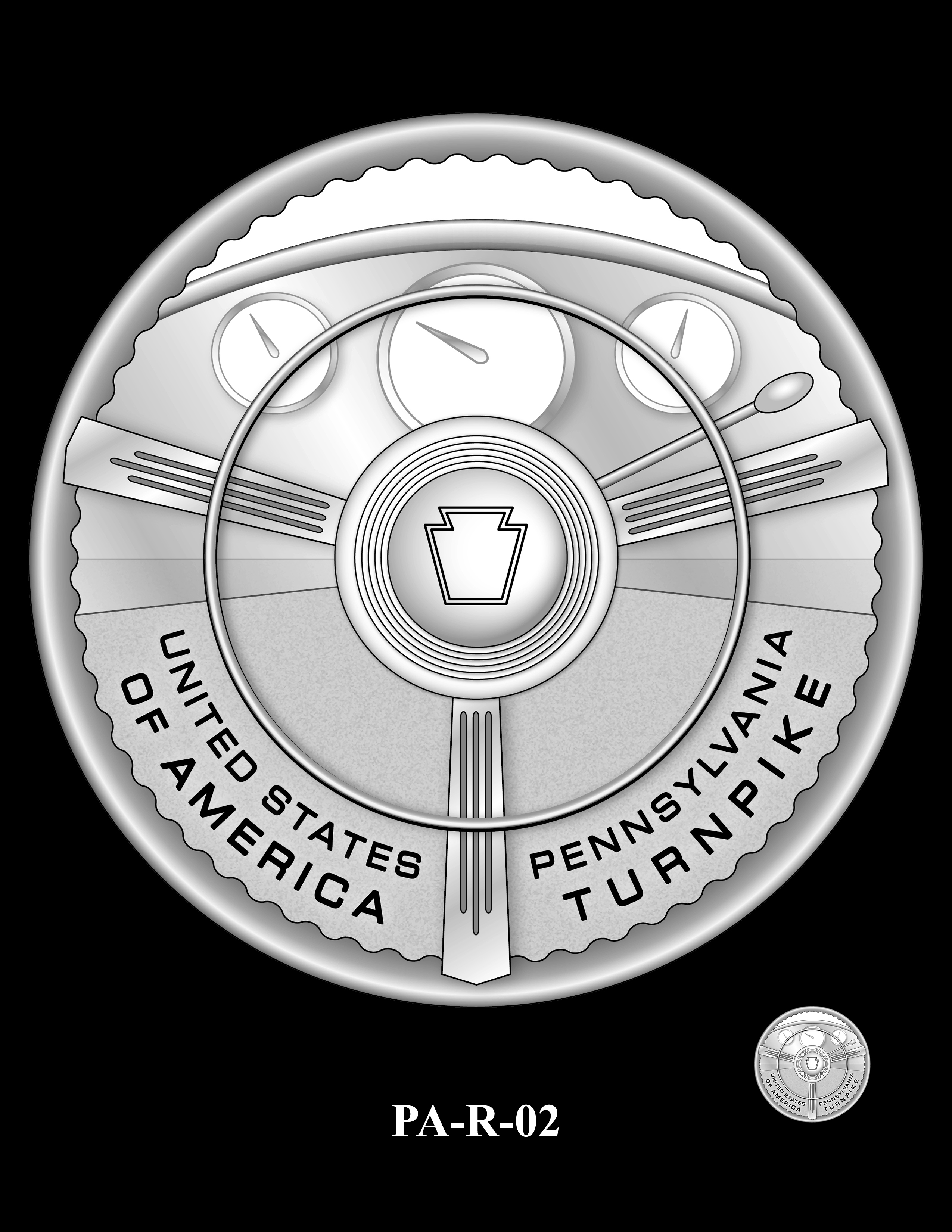 PA-R-02 -- 2019 American Innovation $1 Coin Program