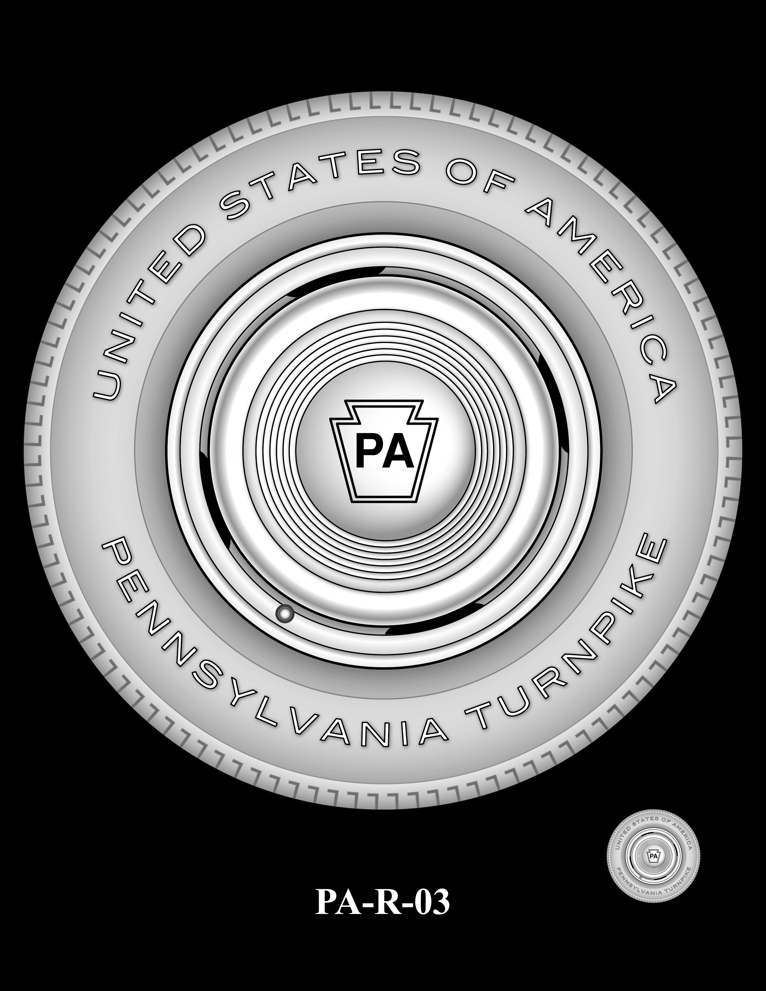 PA-R-03 -- 2019 American Innovation $1 Coin Program