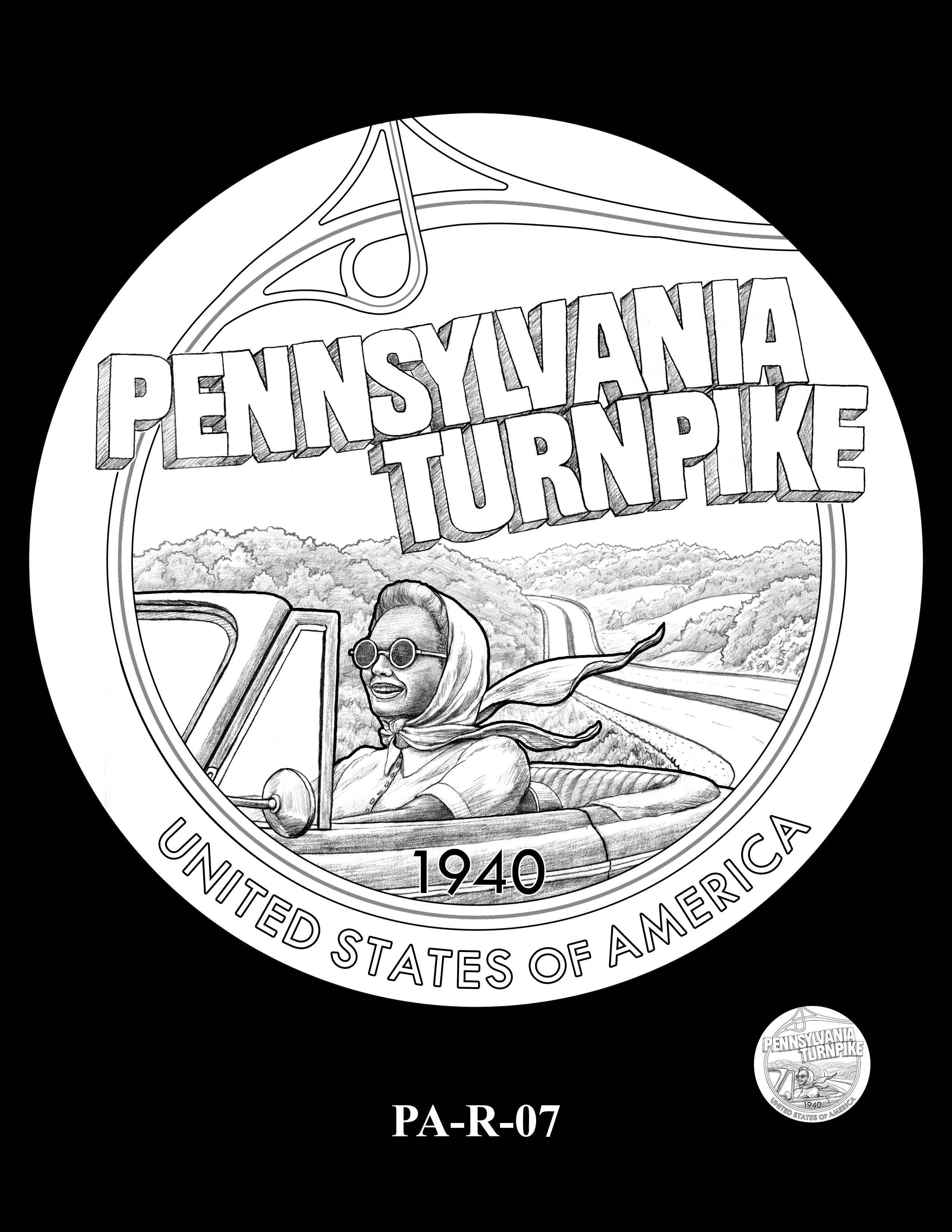 PA-R-07 -- 2019 American Innovation $1 Coin Program