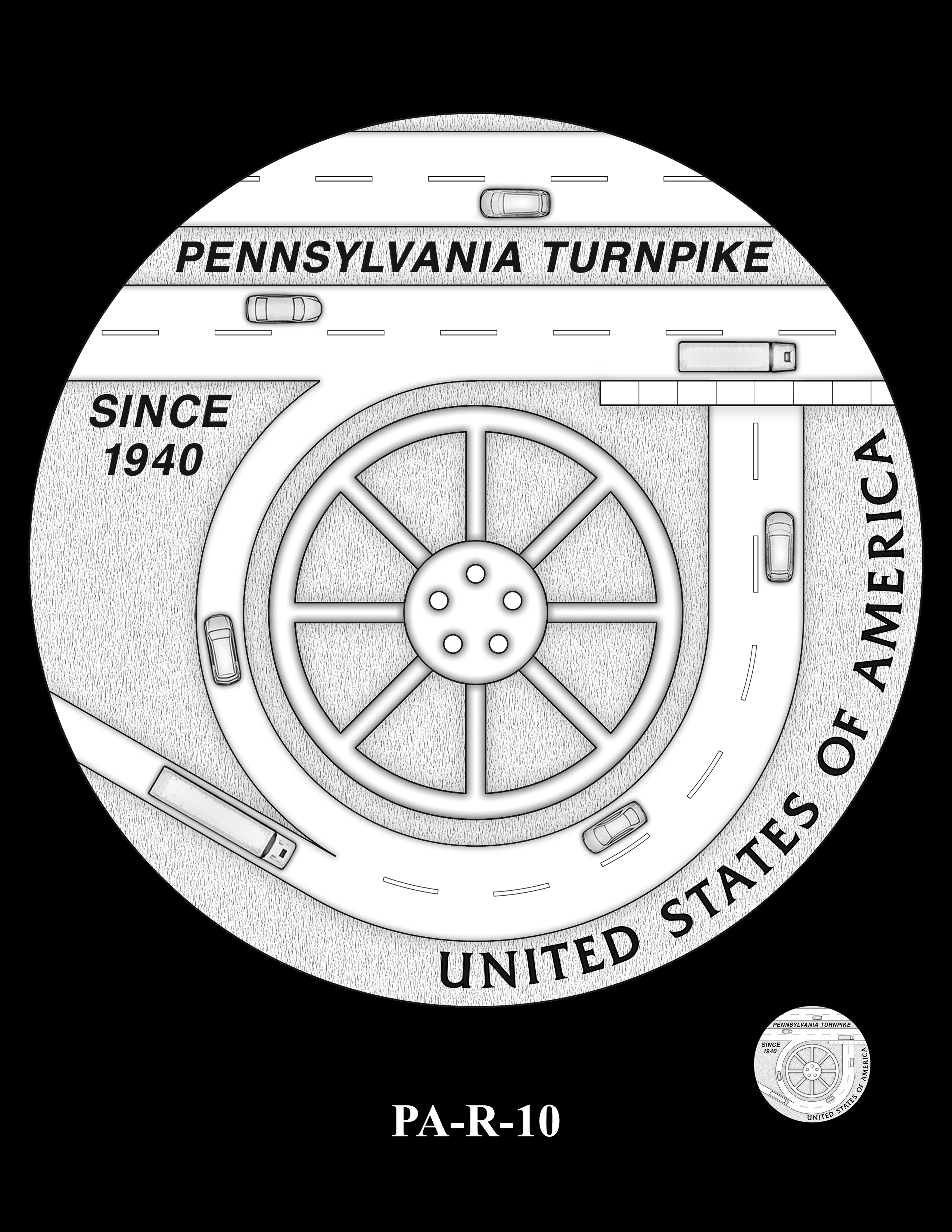PA-R-10 -- 2019 American Innovation $1 Coin Program