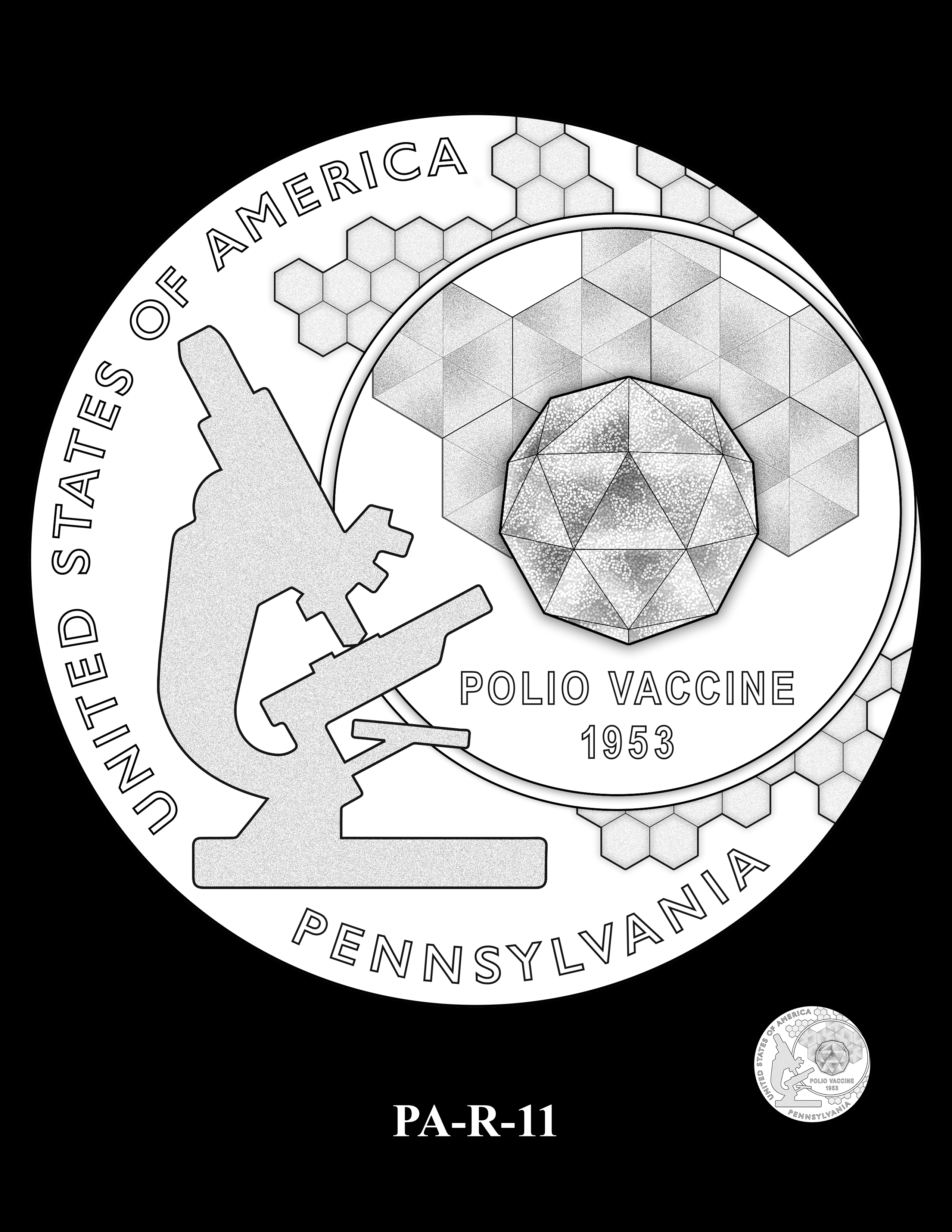 PA-R-11 -- 2019 American Innovation $1 Coin Program