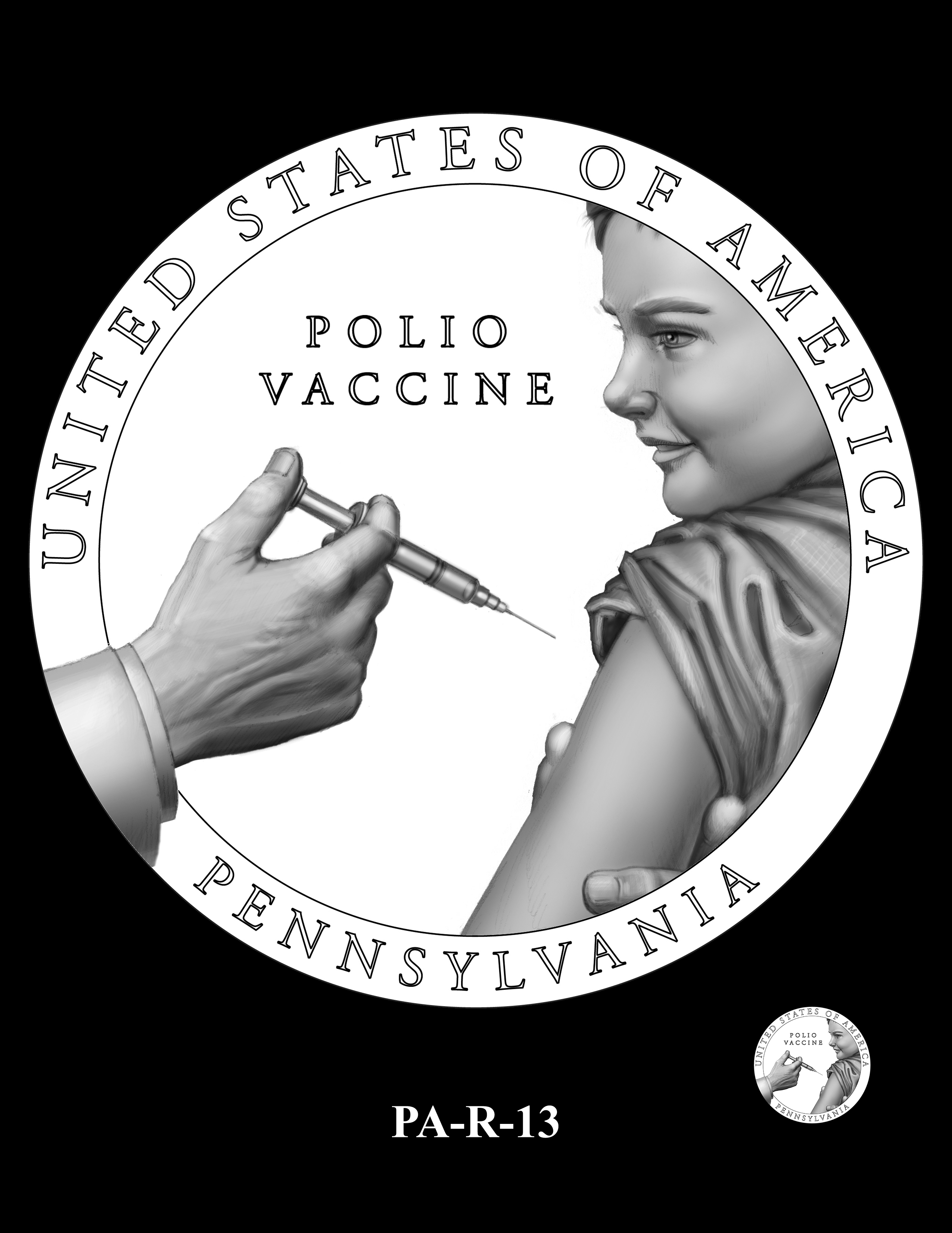 PA-R-13 -- 2019 American Innovation $1 Coin Program