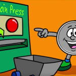 Kids homepage How Coins Are Made video cartoon feature