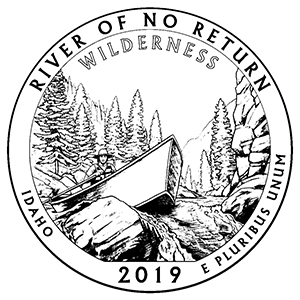 2019 ATB Frank River of No Return Wilderness Idaho America the Beautiful Coloring Book Icon 300x300