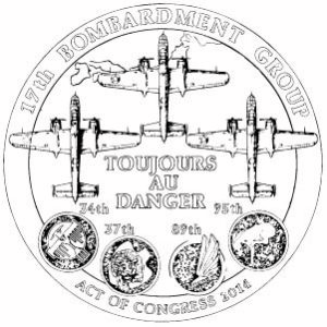 2014 Doolittle Tokyo Raiders bronze medal coloring page 300x300