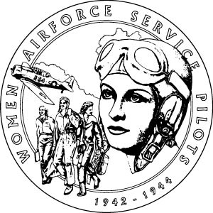 2009 Women Airforce Service Pilots (WASP) medal coloring page icon 300x300