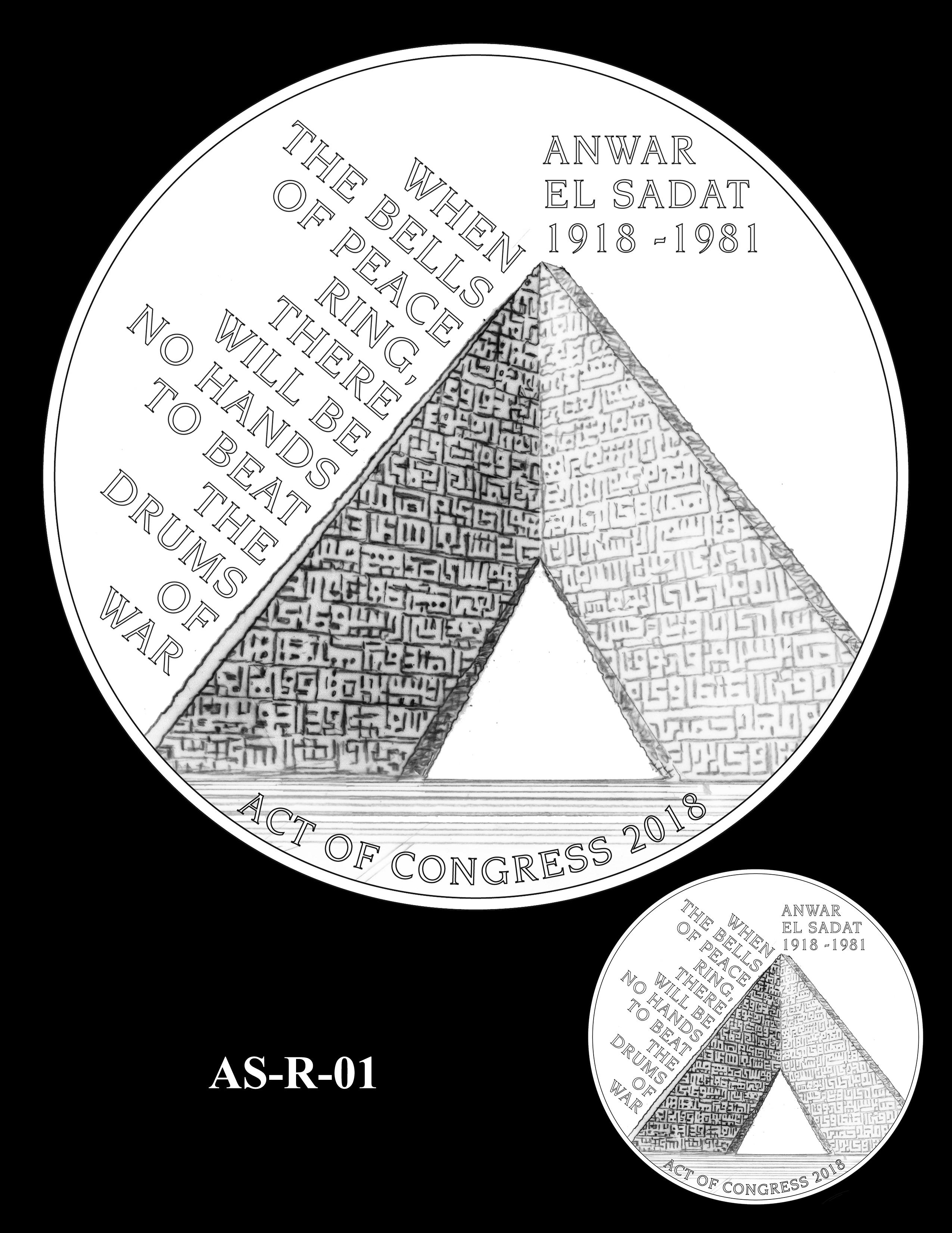 AS-R-01 -- Anwar El Sadat CGM Reverse