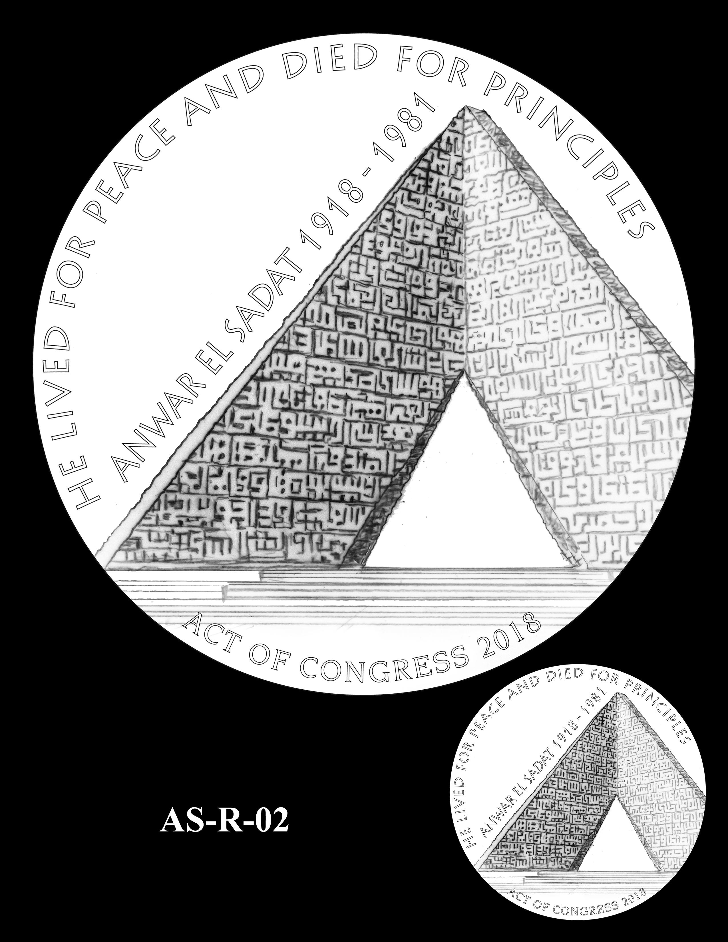 AS-R-02 -- Anwar El Sadat CGM Reverse