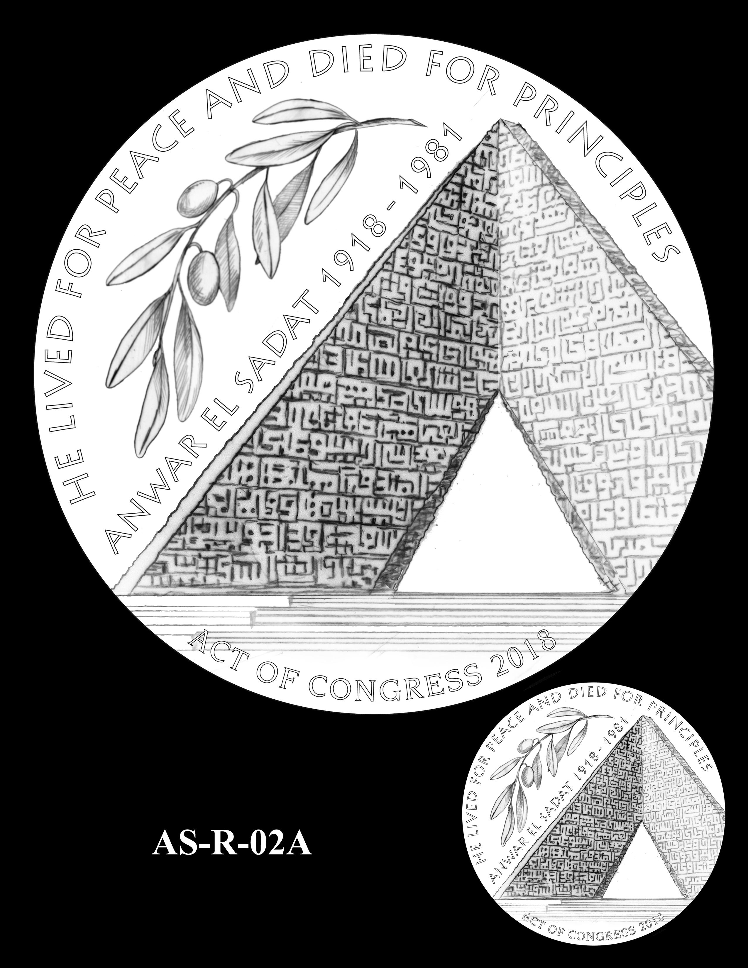 AS-R-02A -- Anwar El Sadat CGM Reverse
