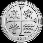 San Antonio Missions Quarter Reverse